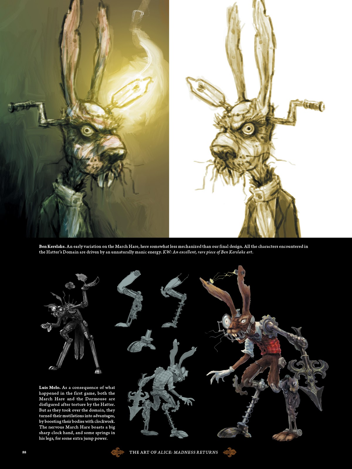 Read online The Art of Alice: Madness Returns comic -  Issue # TPB (Part 1) - 79