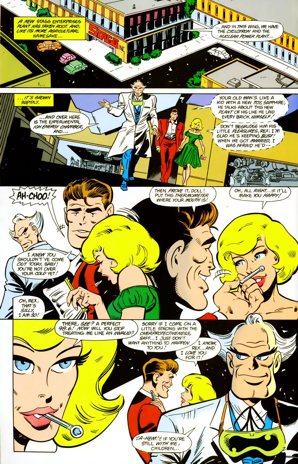 Read online Adventures of the Outsiders comic -  Issue #42 - 23