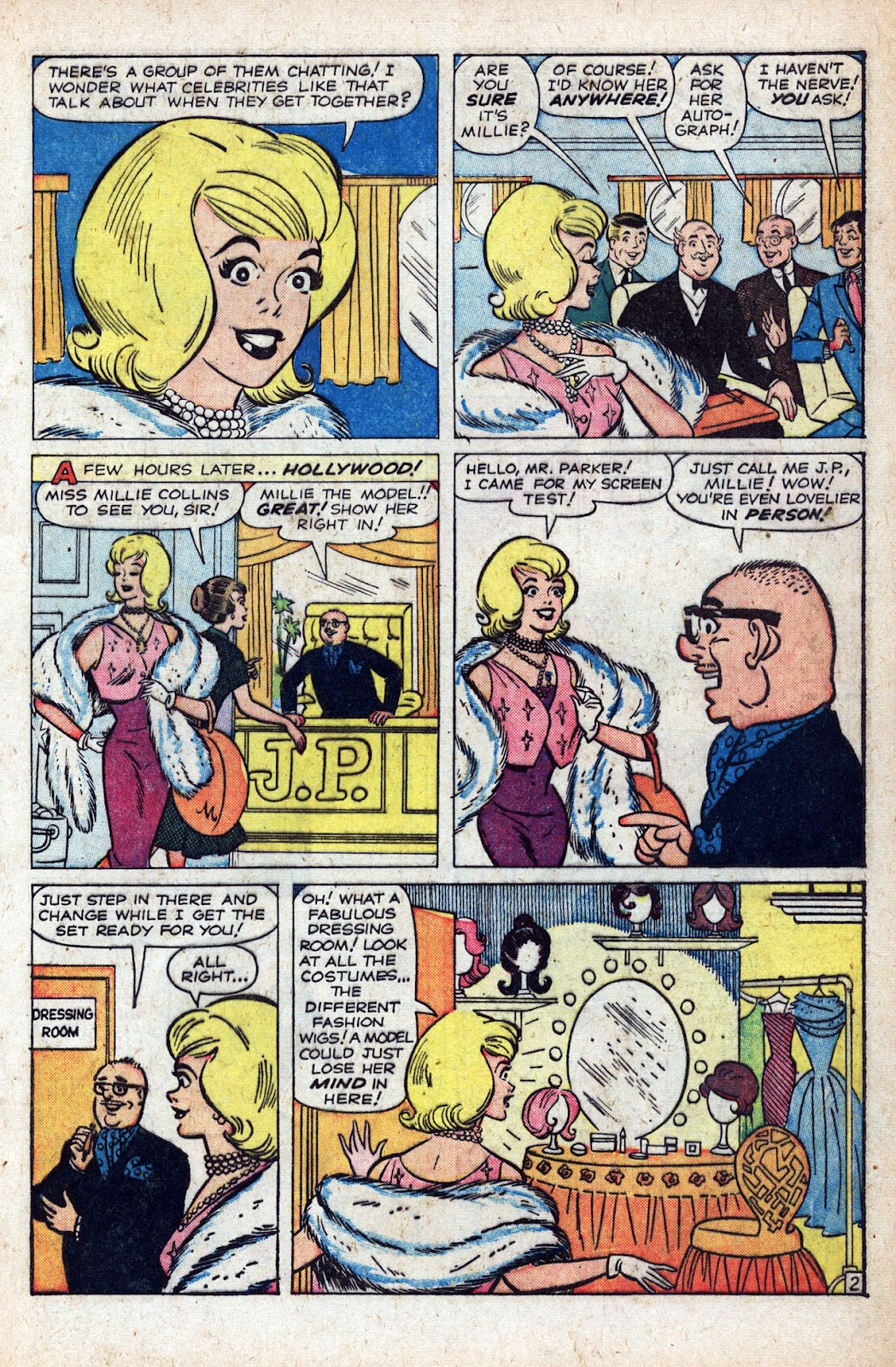 Read online Millie the Model comic -  Issue # Annual 1 - 43