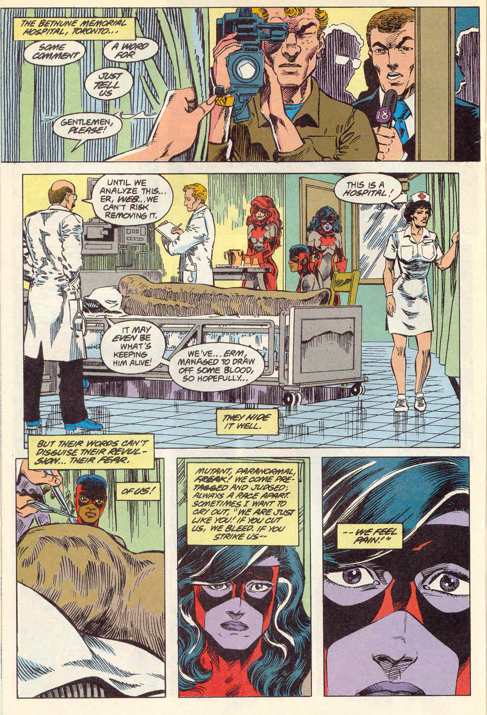 Read online Alpha Flight (1983) comic -  Issue #115 - 19