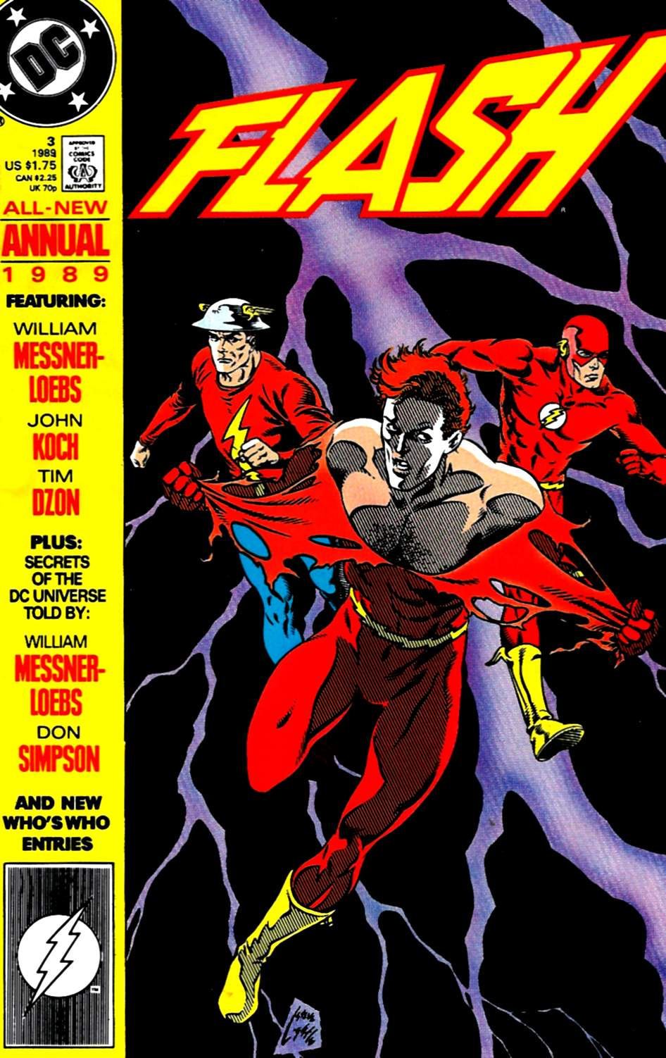 Read online The Flash (1987) comic -  Issue # _Annual 3 - 1