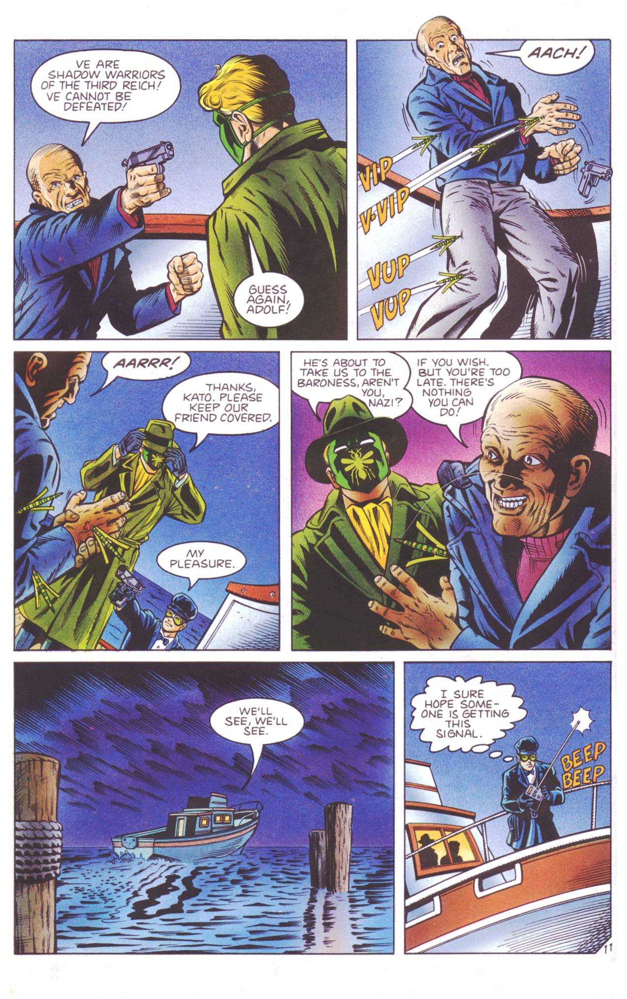 Read online Sting of The Green Hornet comic -  Issue #4 - 12