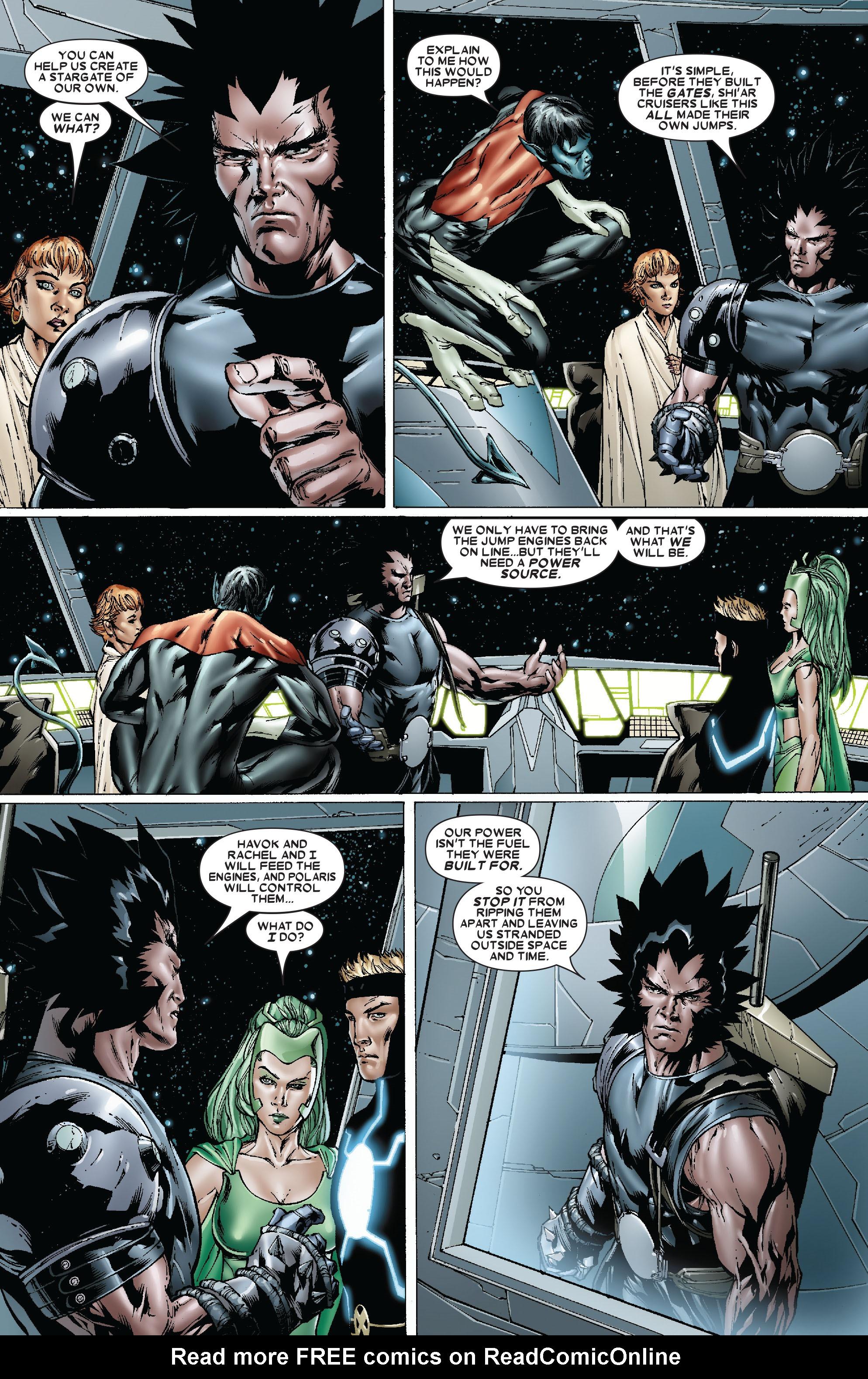Read online Uncanny X-Men (1963) comic -  Issue #481 - 7