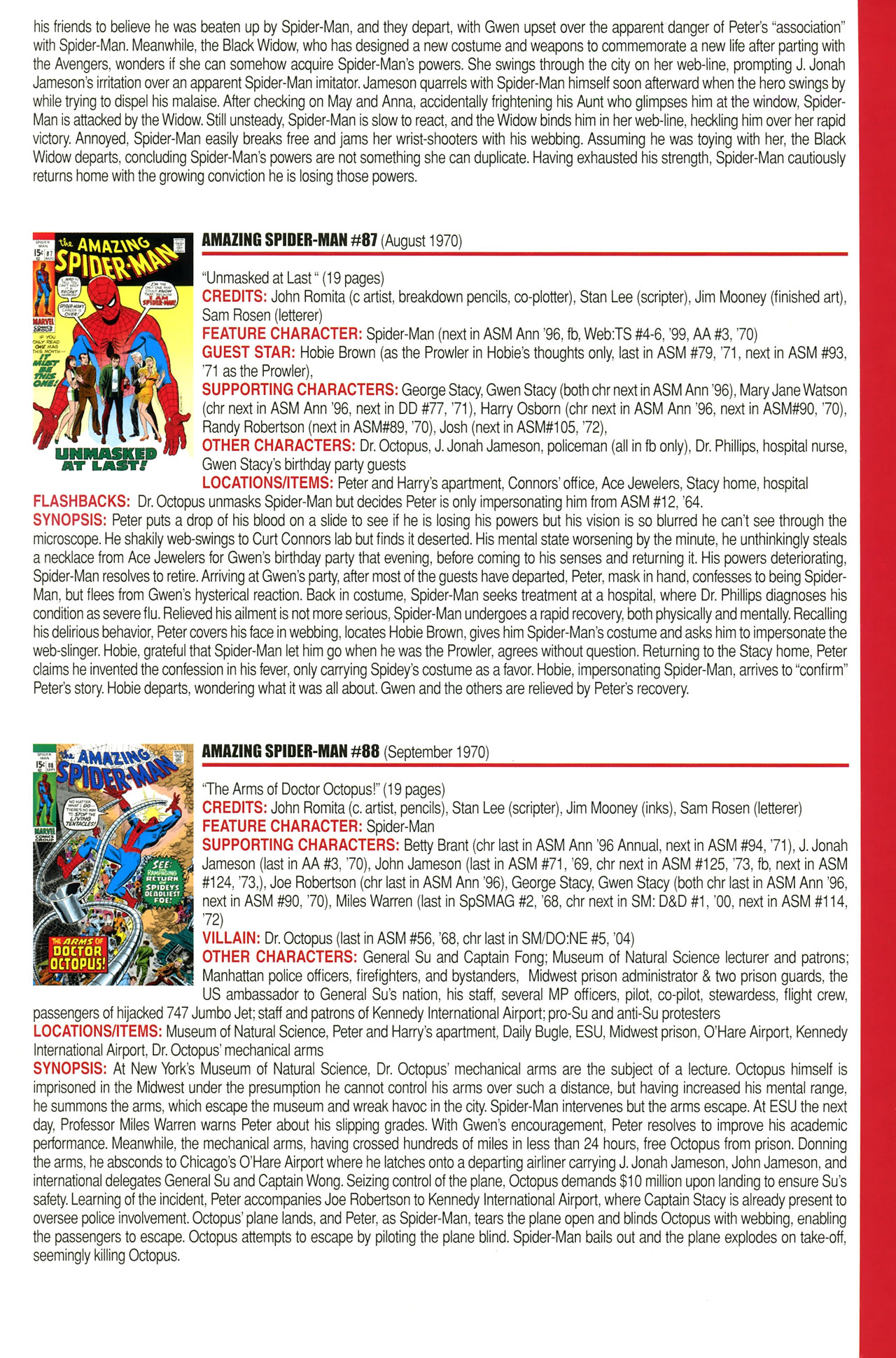 Read online Official Index to the Marvel Universe comic -  Issue #2 - 17