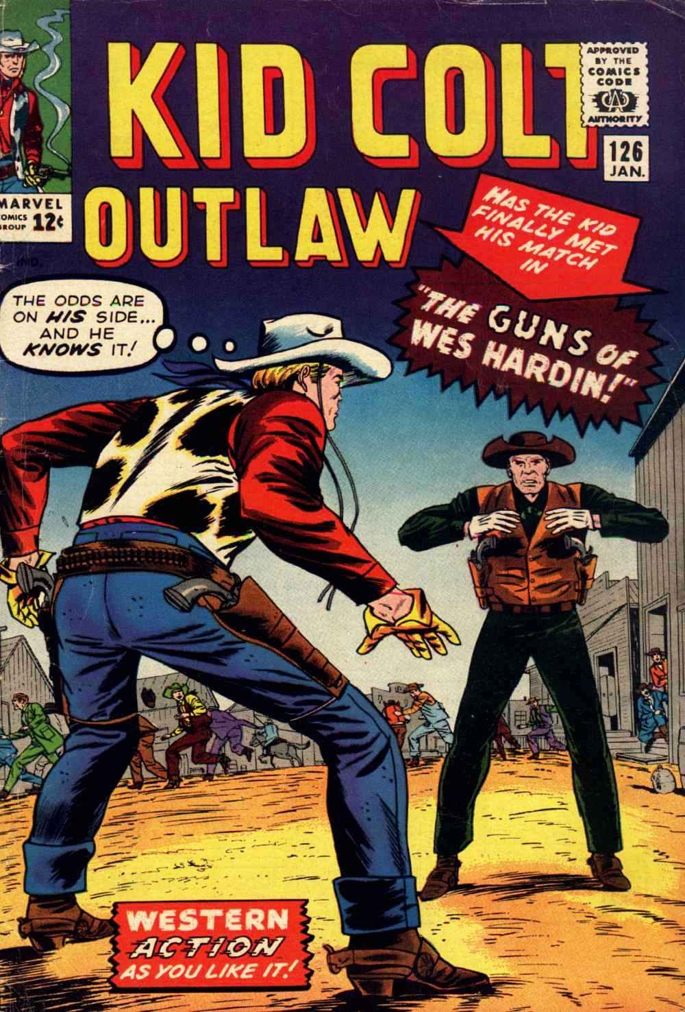 Kid Colt Outlaw issue 126 - Page 1