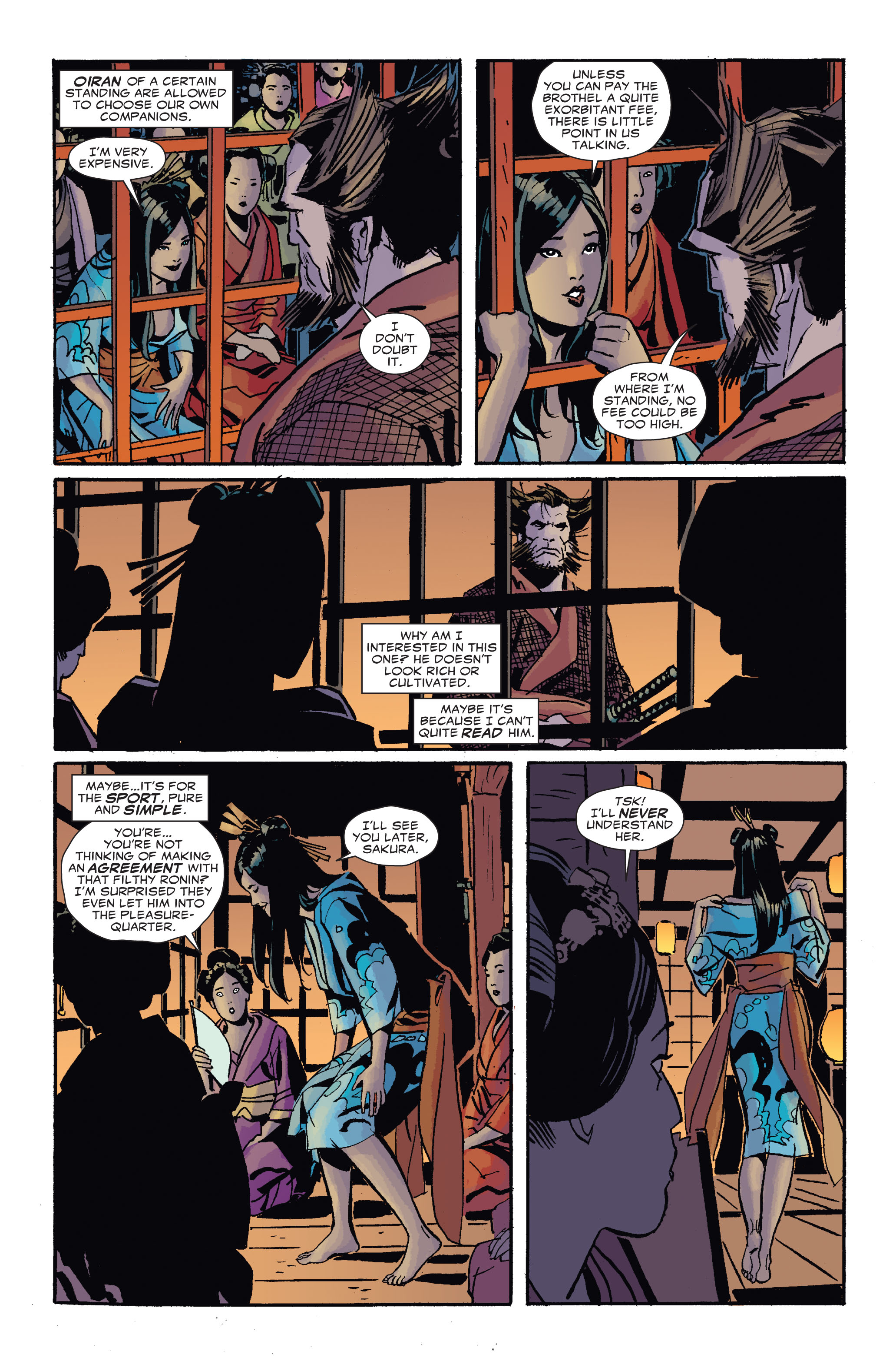 Read online 5 Ronin (2011) comic -  Issue #4 - 11