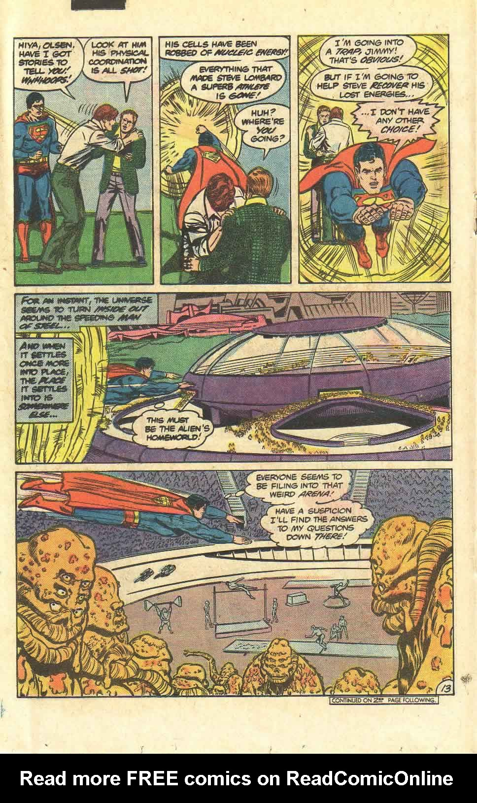 Read online Action Comics (1938) comic -  Issue #523 - 14