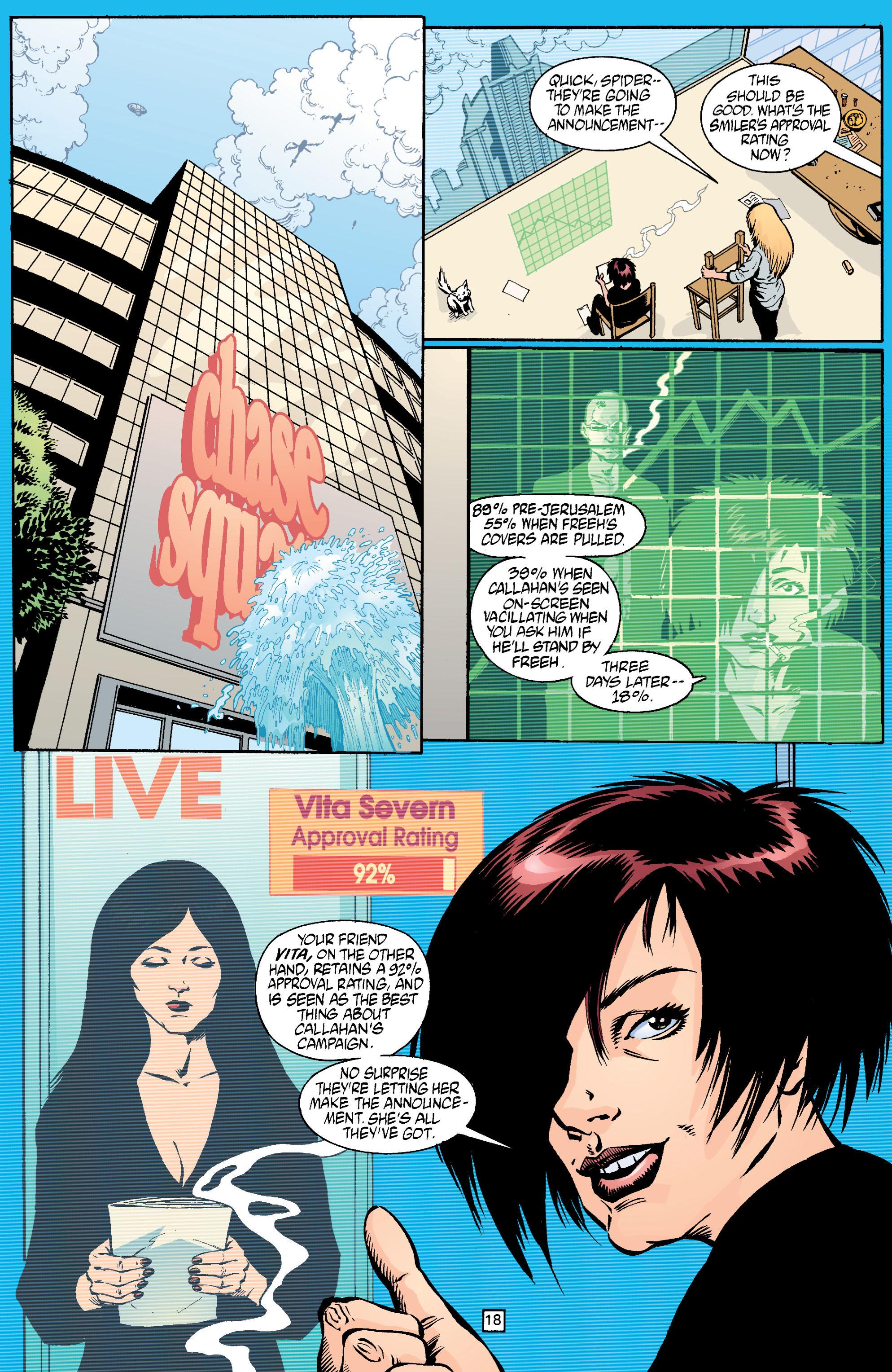 Read online Transmetropolitan comic -  Issue #18 - 19