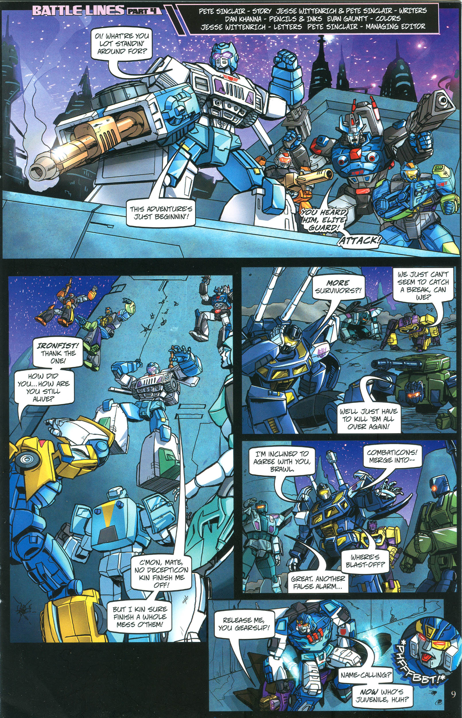 Read online Transformers: Collectors' Club comic -  Issue #40 - 9