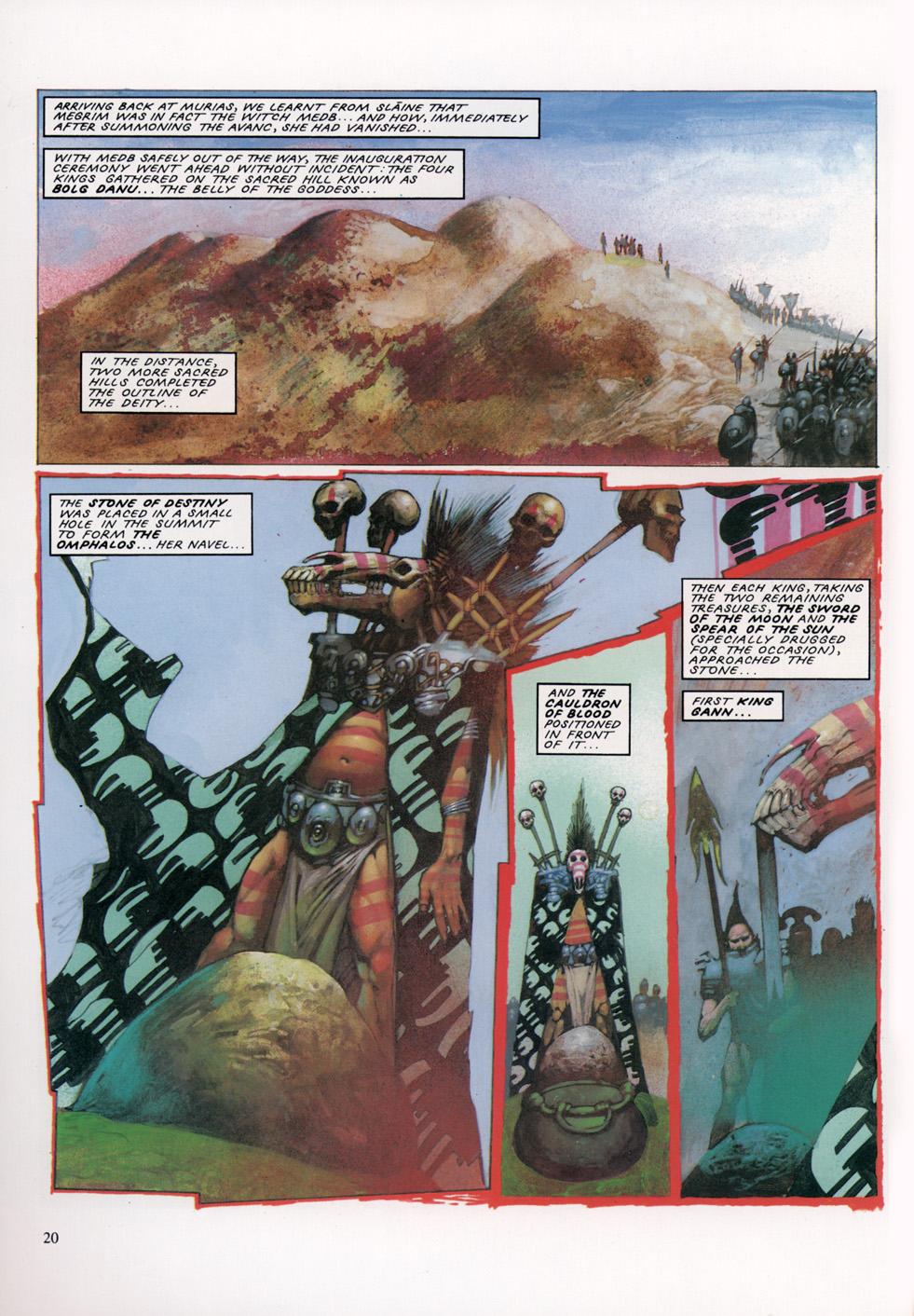 Read online Slaine: The Horned God (1993) comic -  Issue #4 - 21