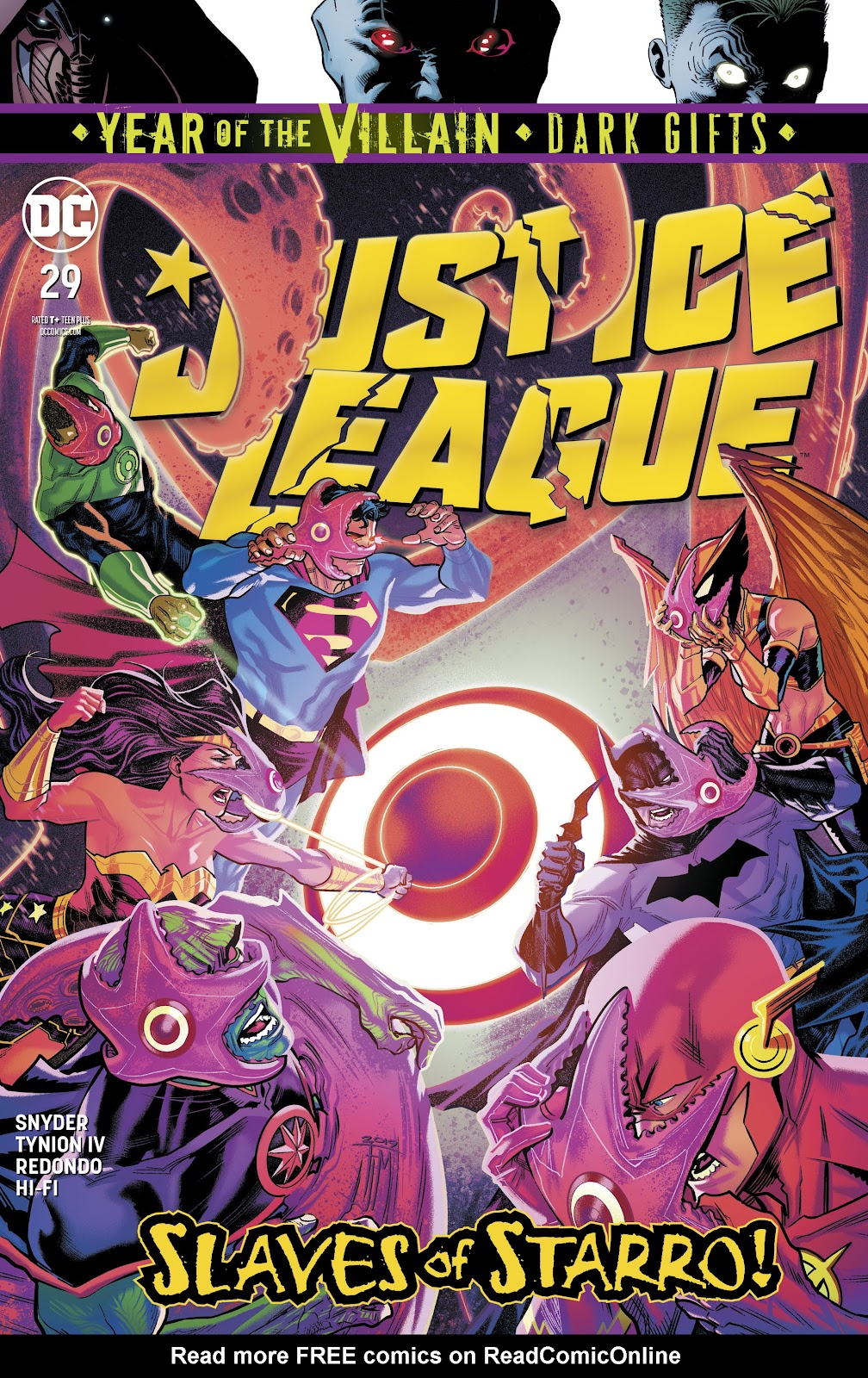 Justice League (2018) issue 29 - Page 1