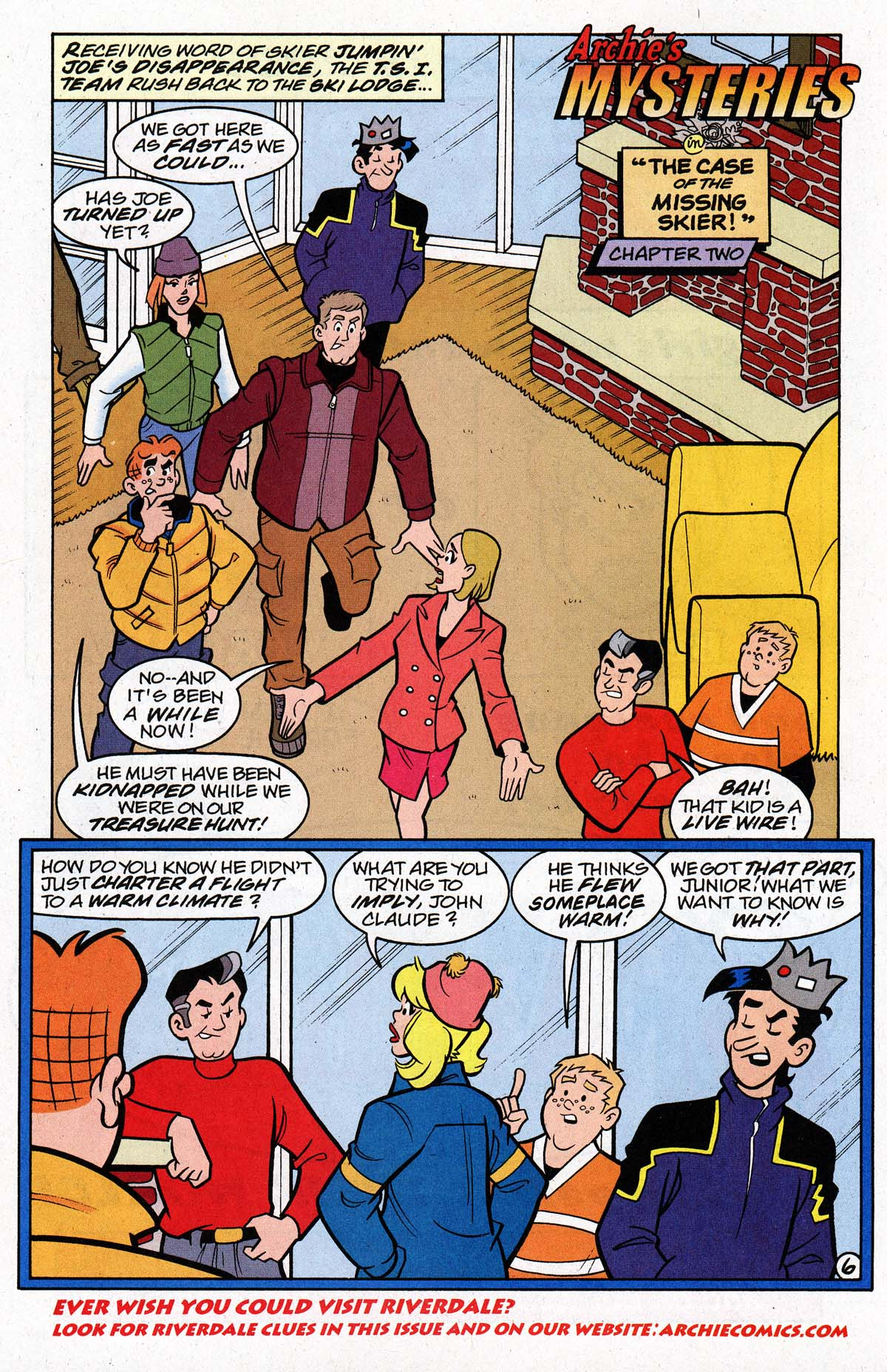 Read online Archie's Weird Mysteries comic -  Issue #26 - 9