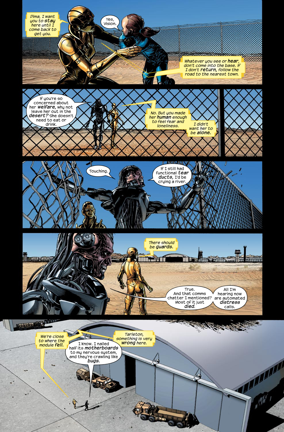 Read online Ultimate Vision comic -  Issue #4 - 19
