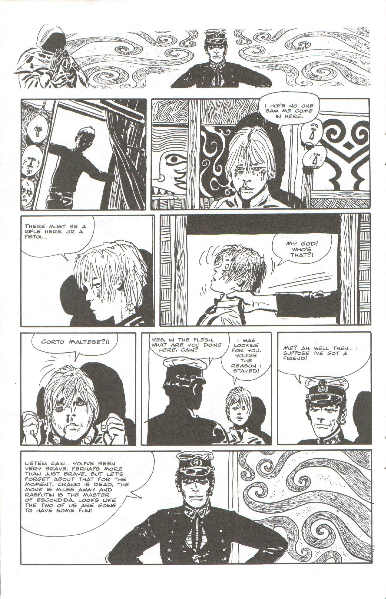 Read online Corto Maltese: Ballad of the Salt Sea comic -  Issue #5 - 18