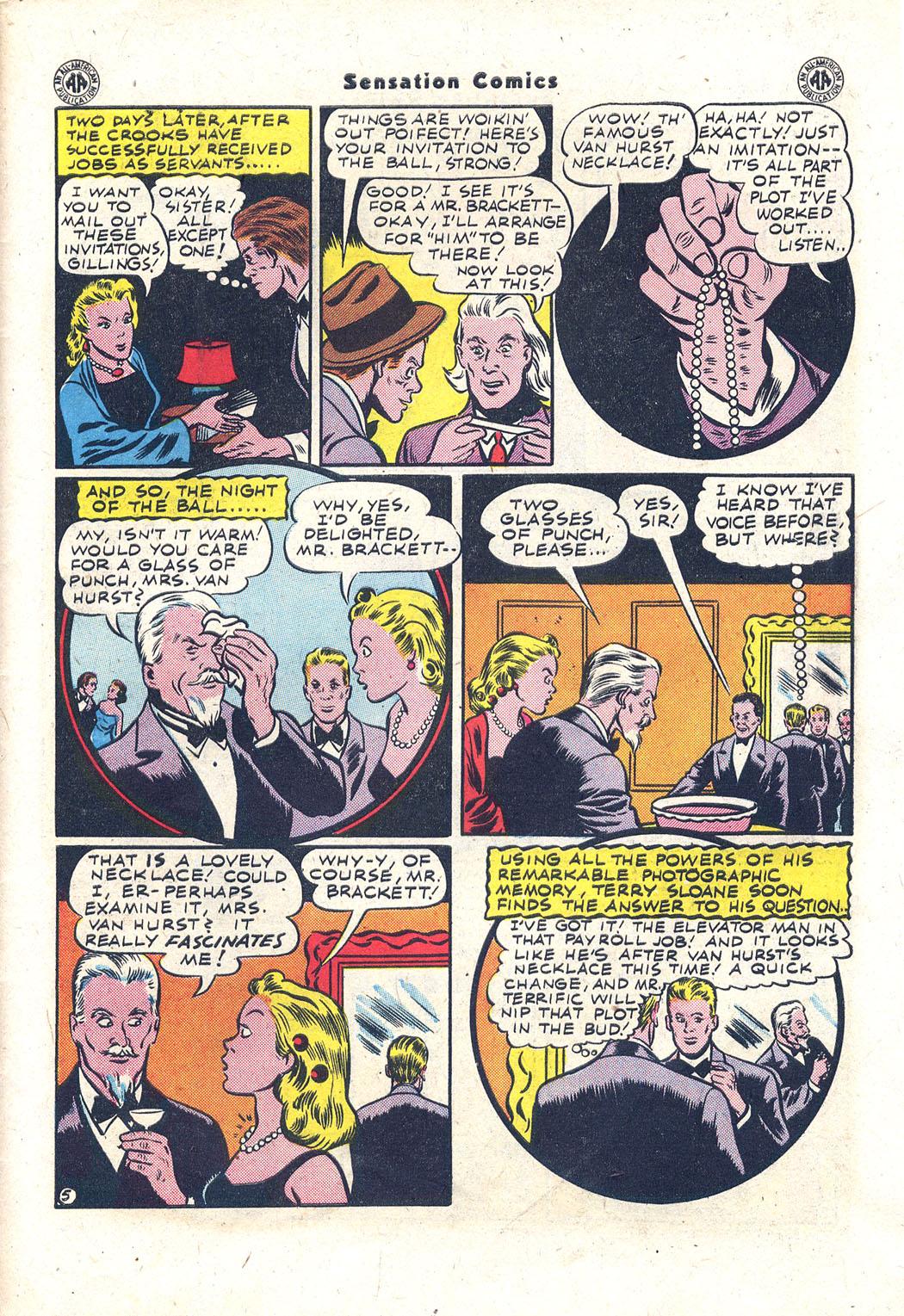 Read online Sensation (Mystery) Comics comic -  Issue #43 - 38