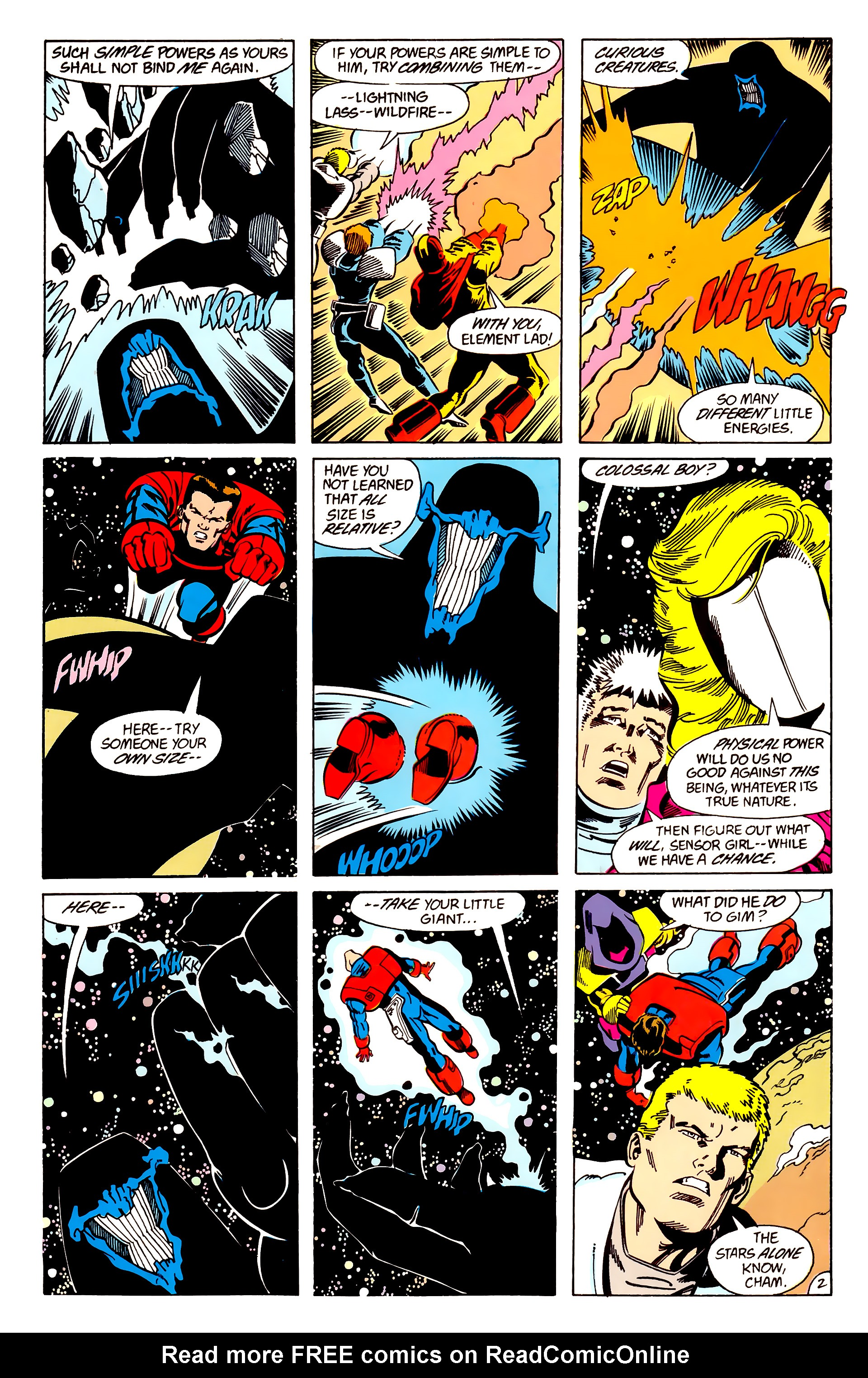 Legion of Super-Heroes (1984) 63 Page 2