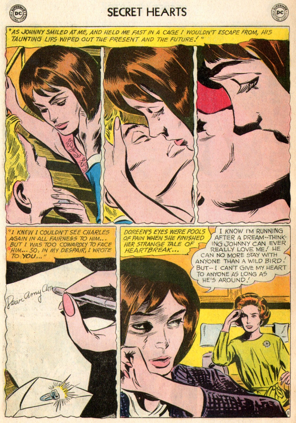 Read online Secret Hearts comic -  Issue #103 - 29