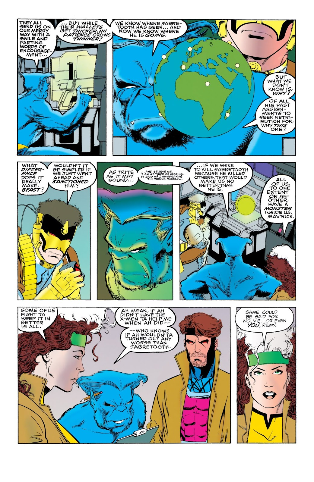 X-Men: The Wedding of Cyclops and Phoenix TPB_Part_2 Page 1
