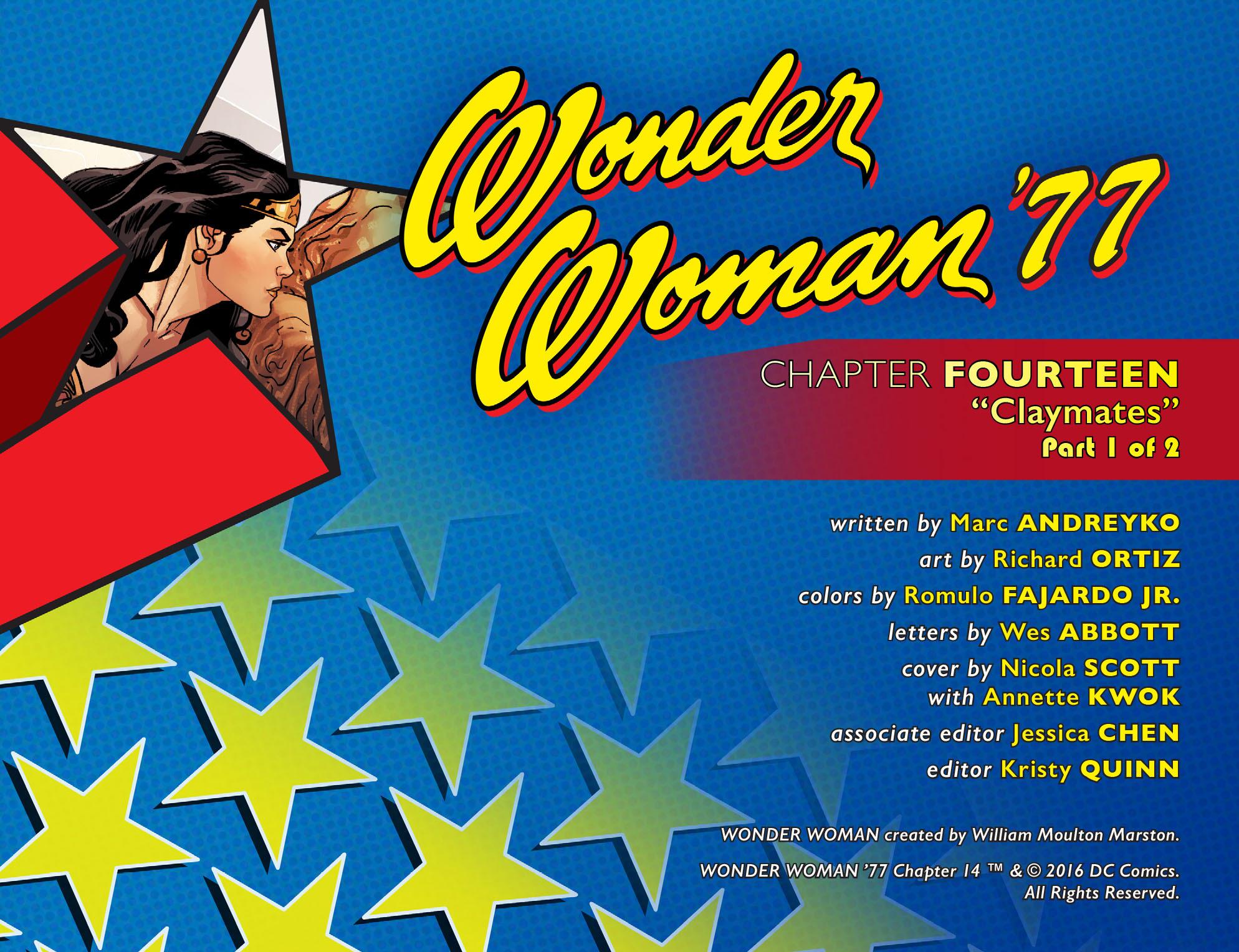Read online Wonder Woman '77 [I] comic -  Issue #14 - 2