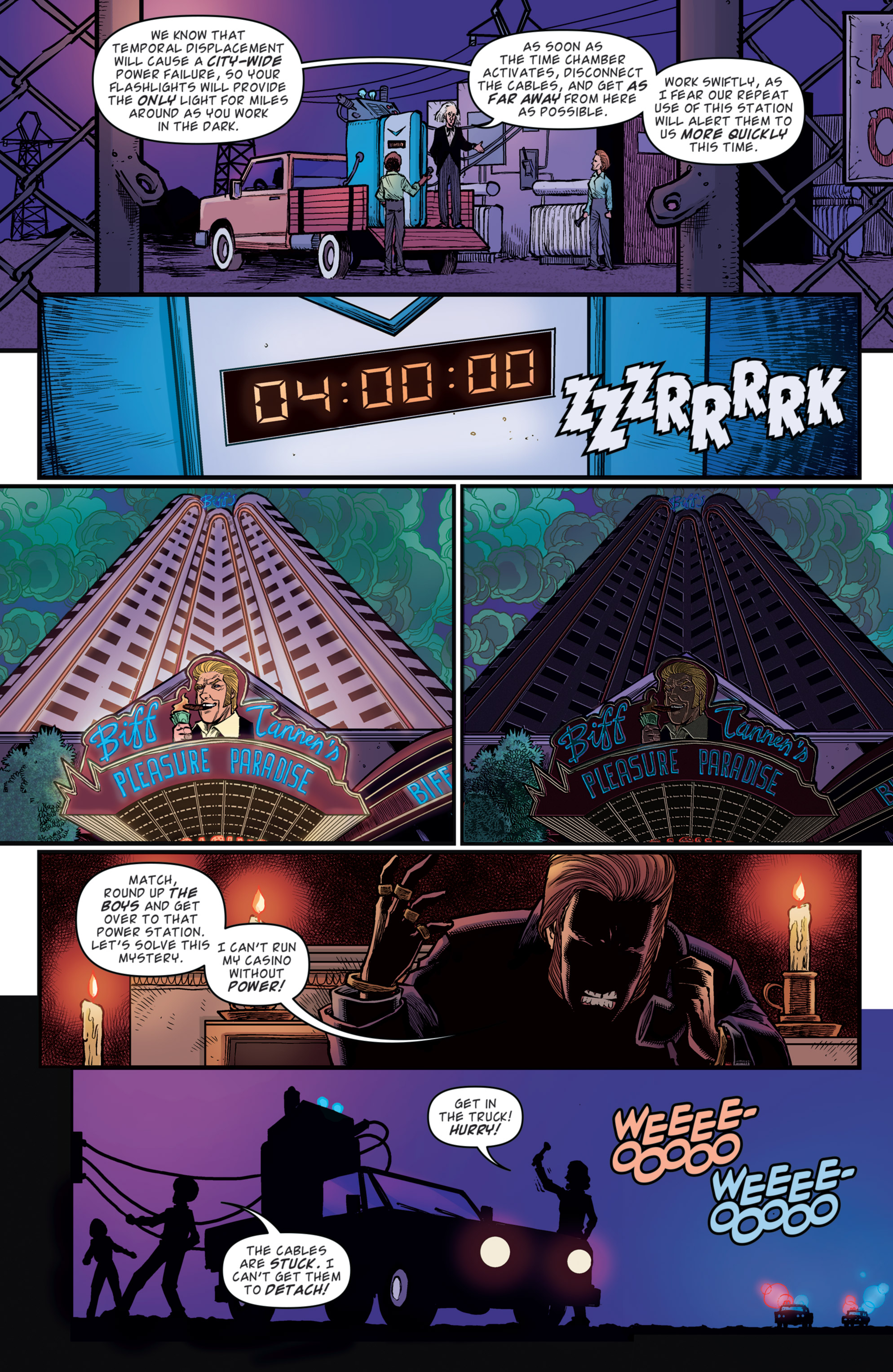 Read online Back to the Future: Biff to the Future comic -  Issue #5 - 15