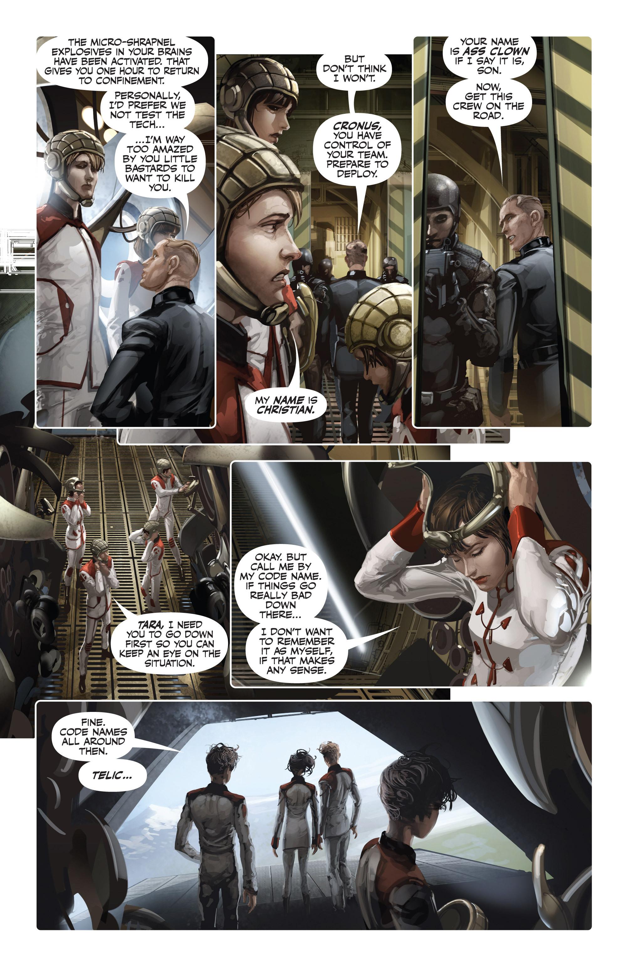 Read online Armor Hunters: Harbinger comic -  Issue # TPB - 80