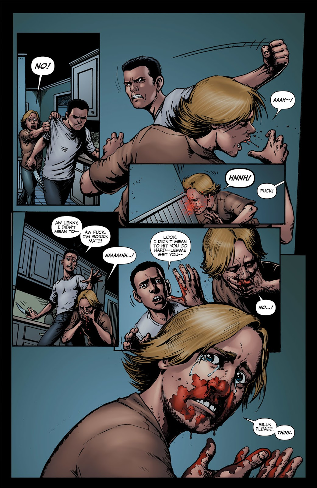 Read online The Boys: Butcher, Baker, Candlestickmaker comic -  Issue #1 - 21