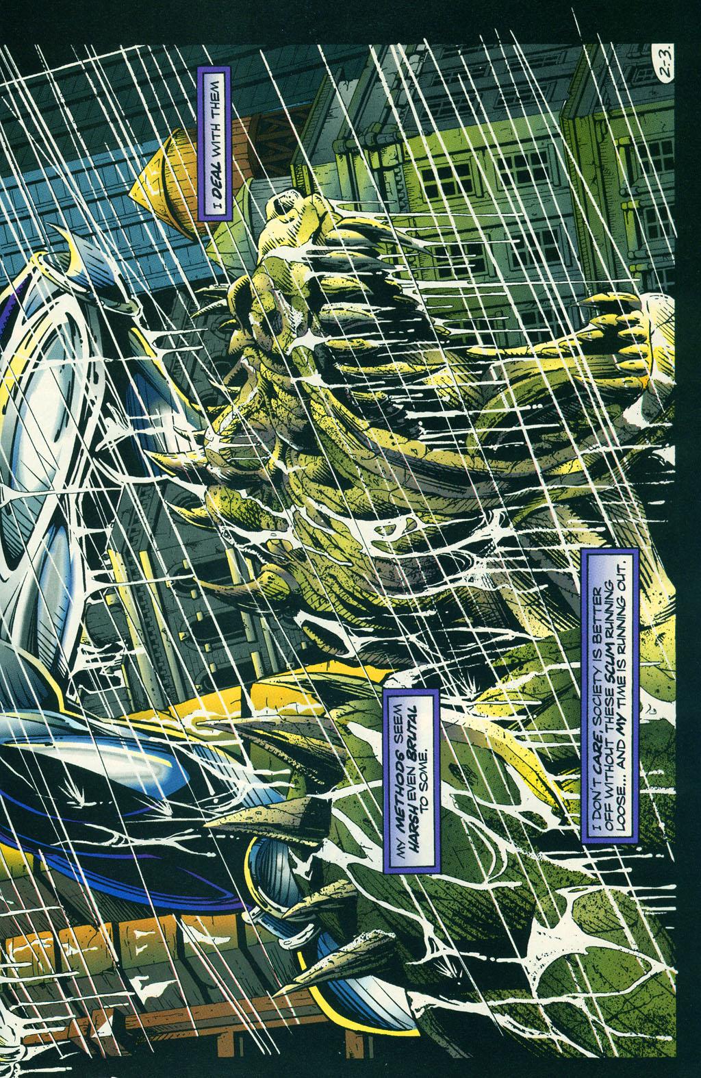 Read online ShadowHawk comic -  Issue #6 - 7