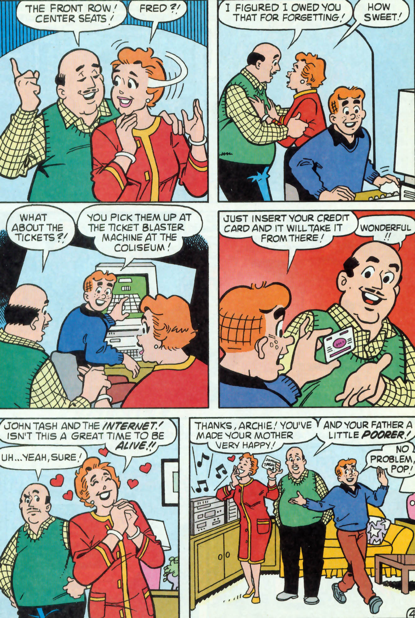 Read online Archie (1960) comic -  Issue #468 - 24