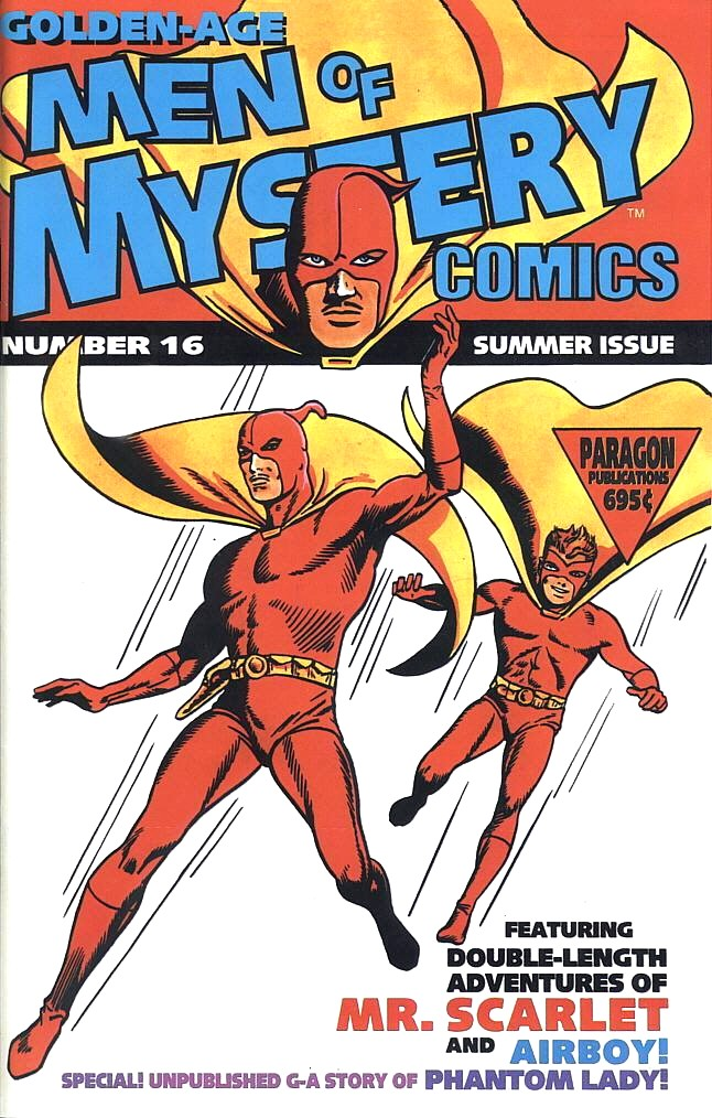 Read online Golden-Age Men of Mystery comic -  Issue #16 - 1