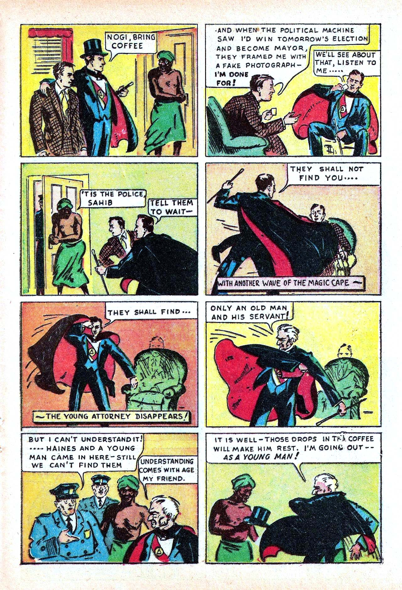 Read online Amazing Man Comics comic -  Issue #11 - 41