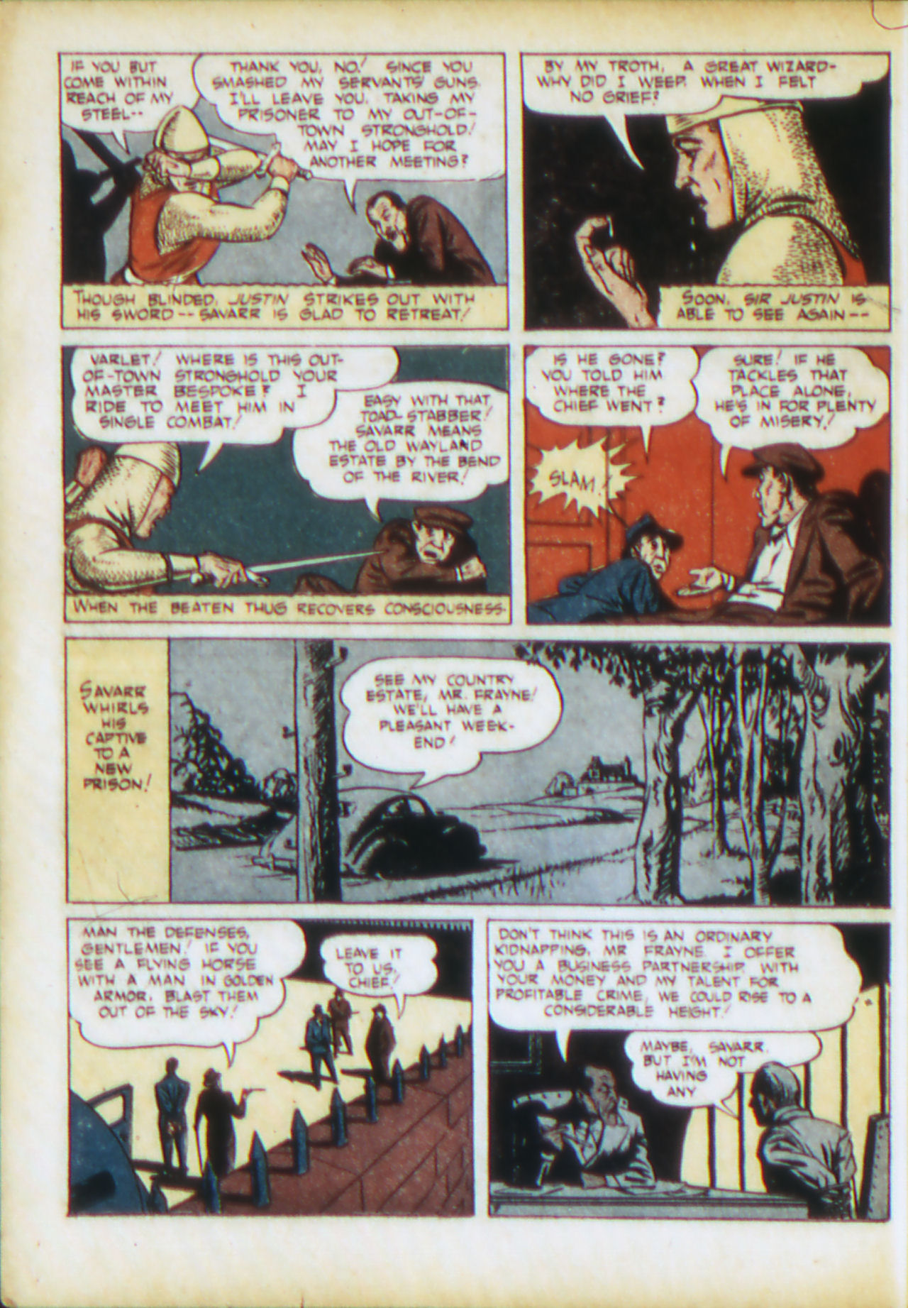 Read online Adventure Comics (1938) comic -  Issue #71 - 25