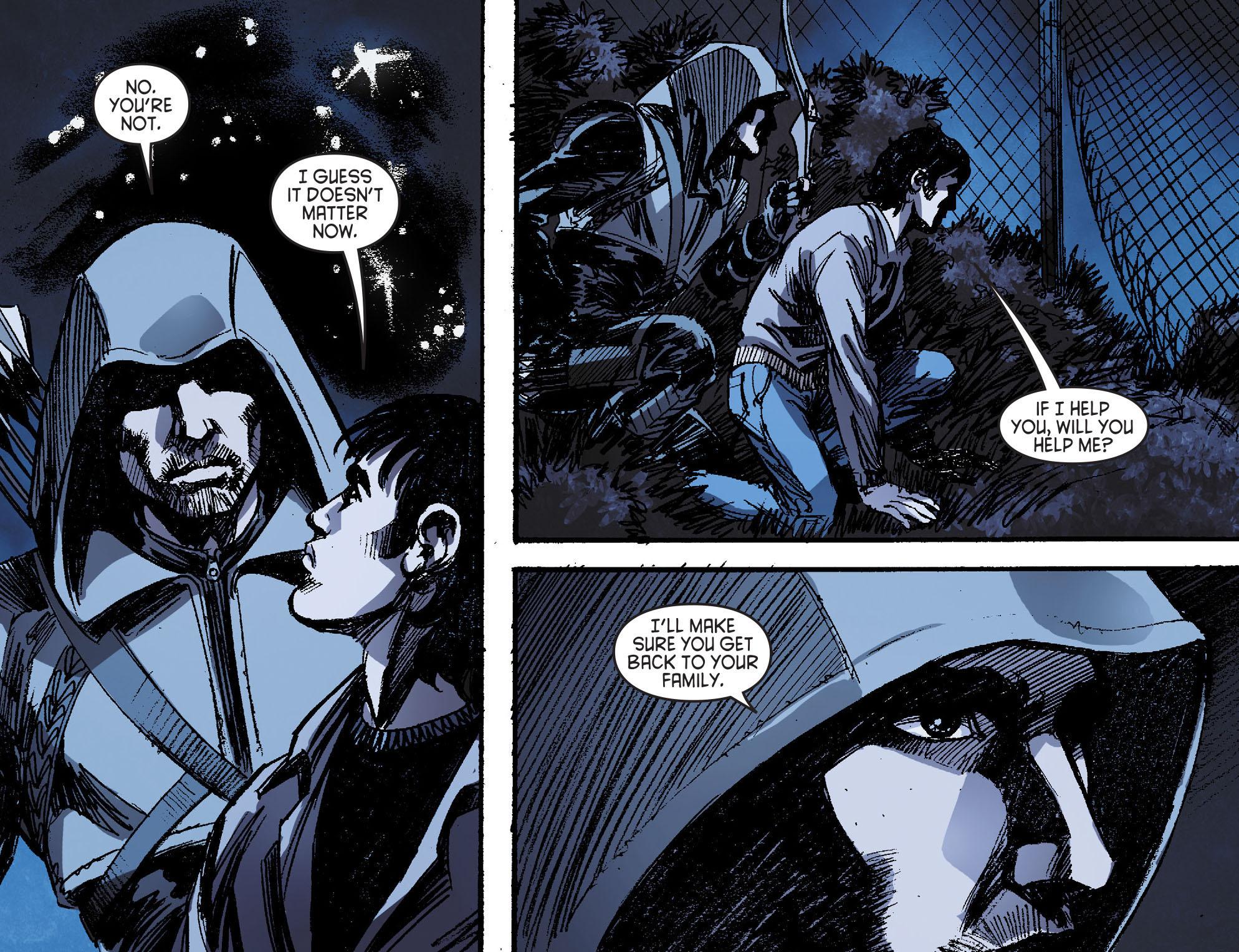 Read online Arrow [II] comic -  Issue #16 - 12