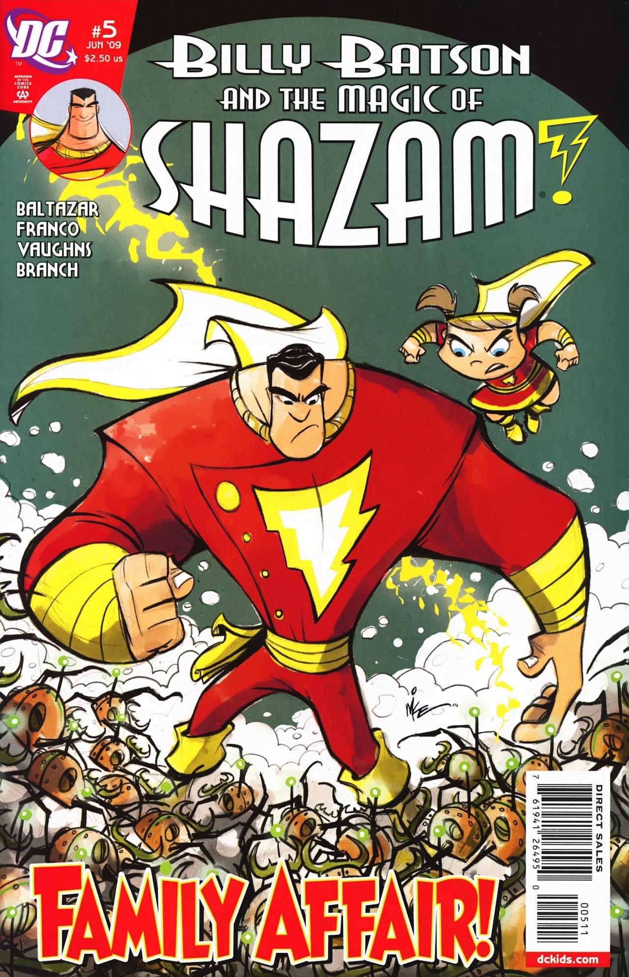Billy Batson & The Magic of Shazam! 5 Page 1