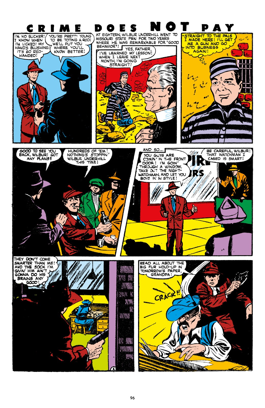 Read online Crime Does Not Pay Archives comic -  Issue # TPB 7 (Part 1) - 98