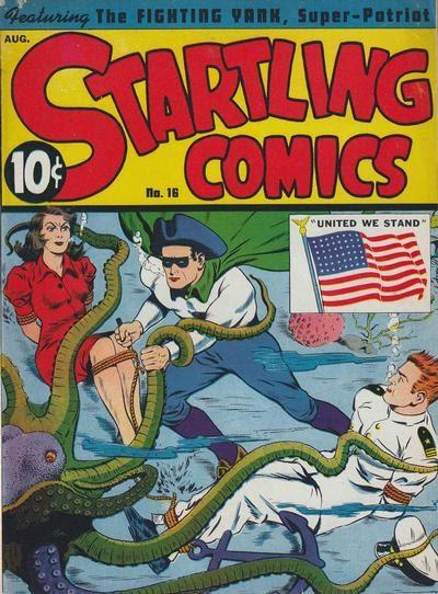 Startling Comics 16 Page 1
