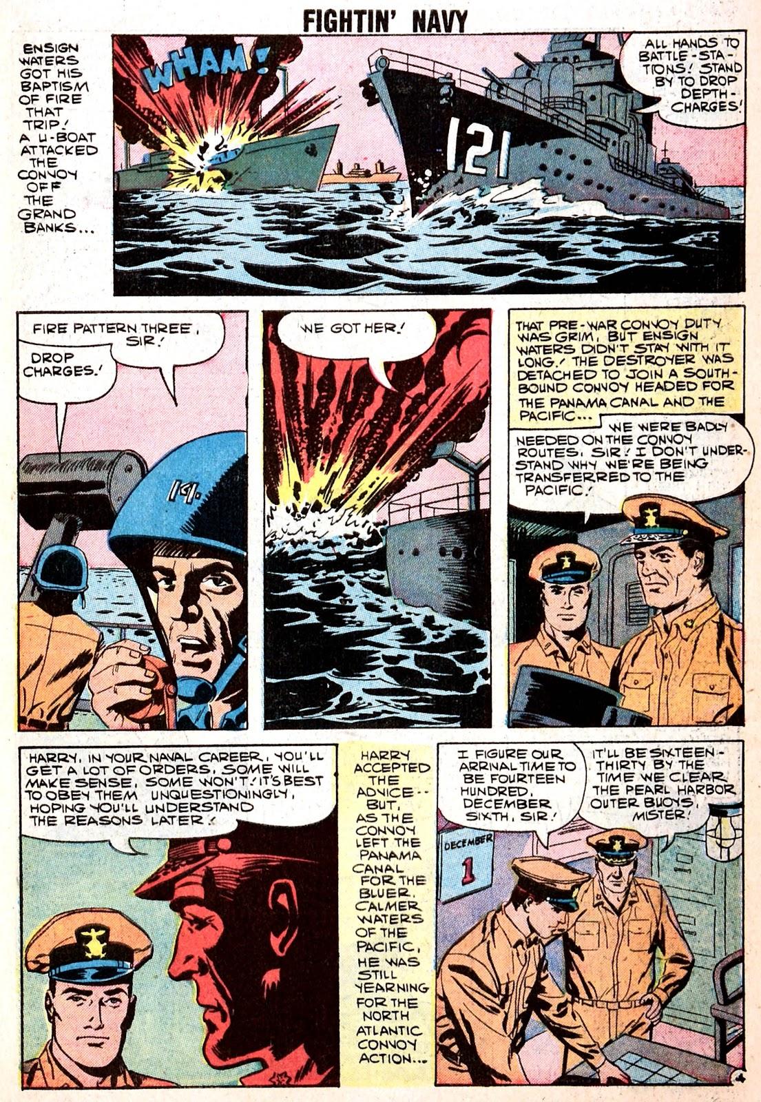 Read online Fightin' Navy comic -  Issue #85 - 7