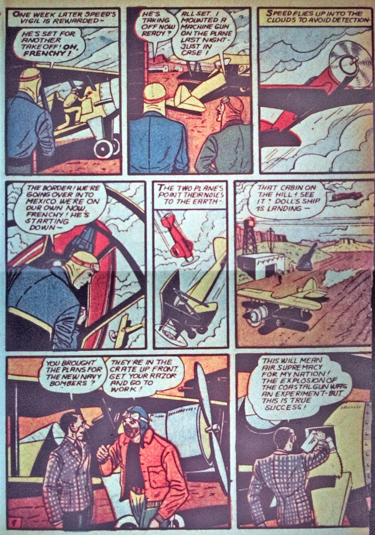 Read online Detective Comics (1937) comic -  Issue #34 - 39