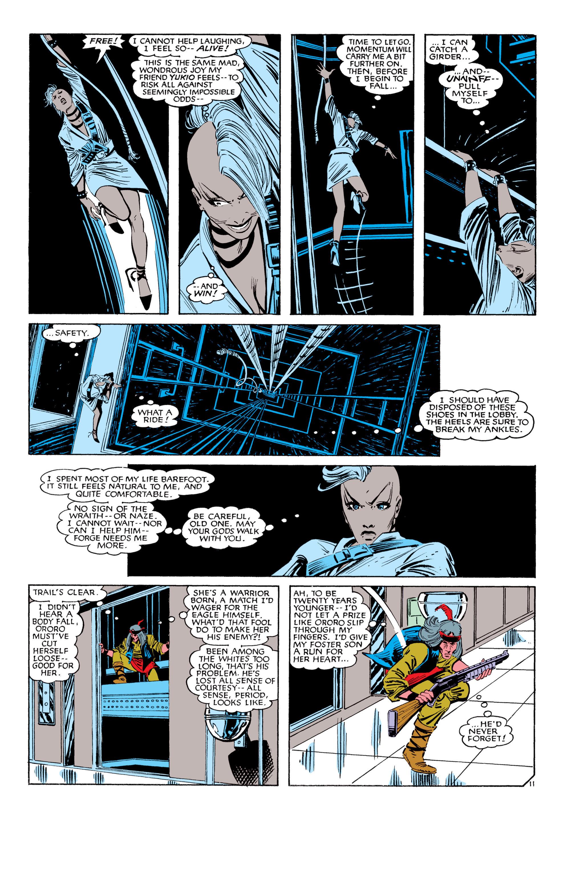 Read online Uncanny X-Men (1963) comic -  Issue #187 - 12