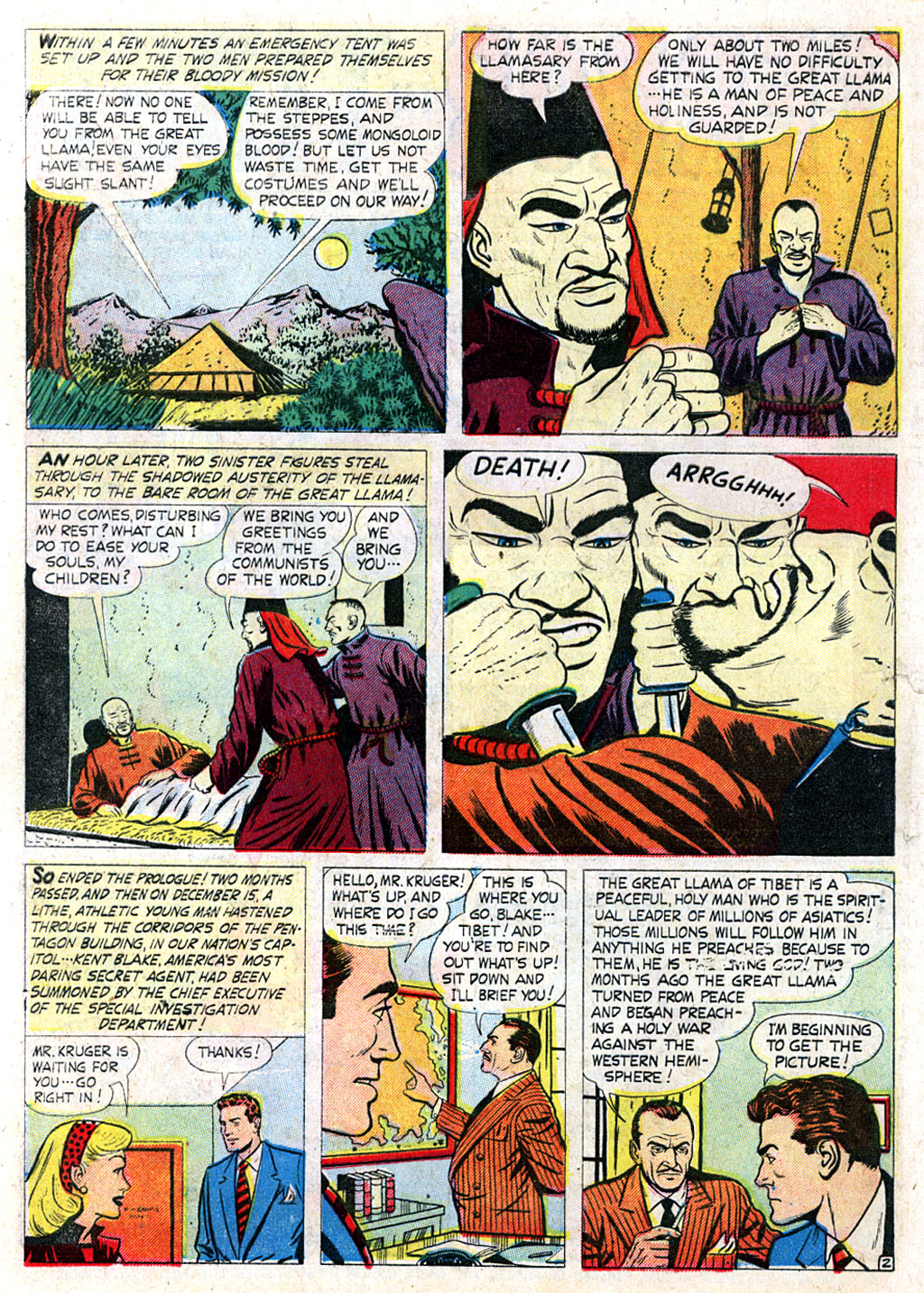 Kent Blake of the Secret Service issue 3 - Page 4