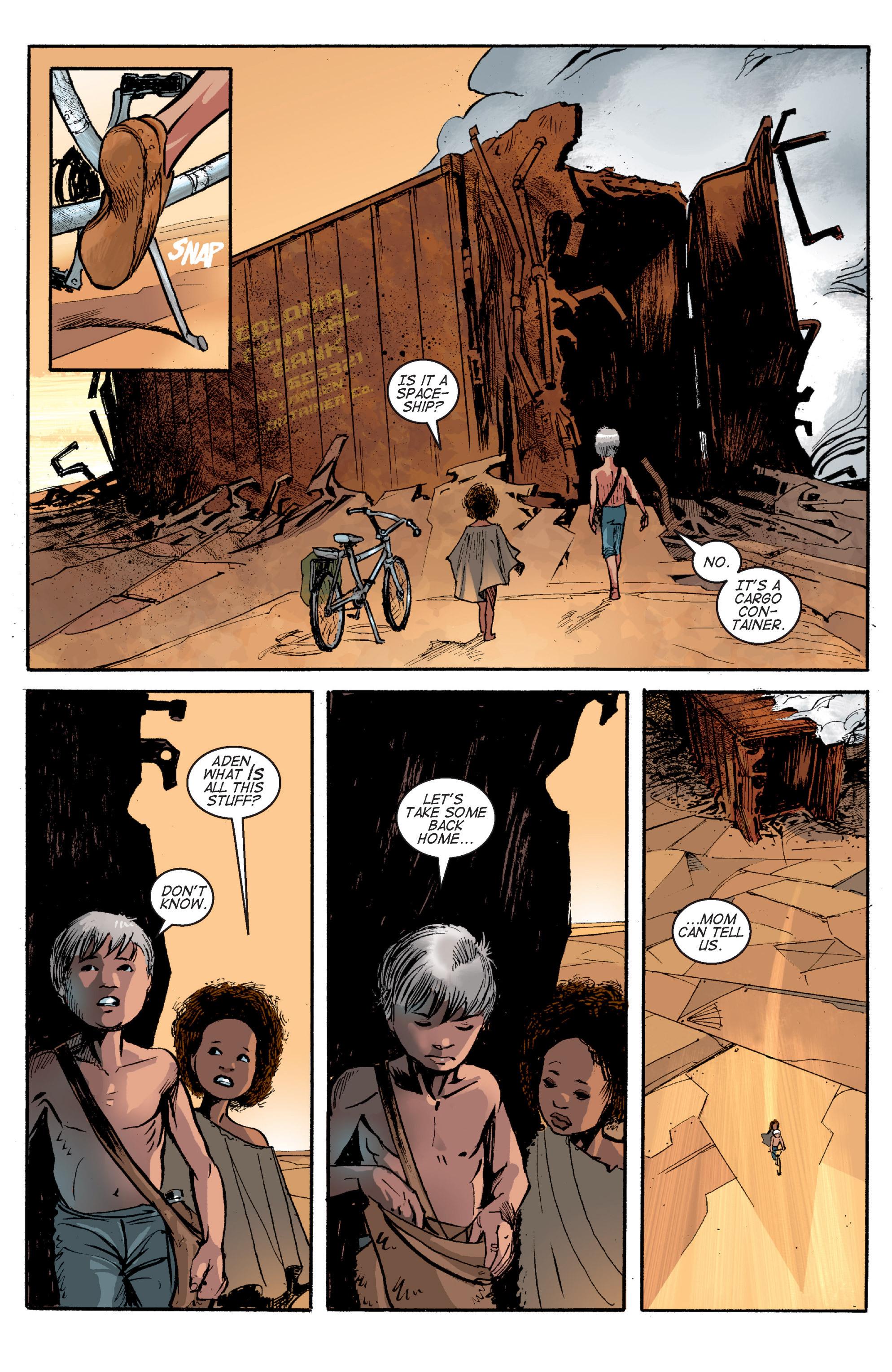 Read online Planetoid comic -  Issue # TPB - 167