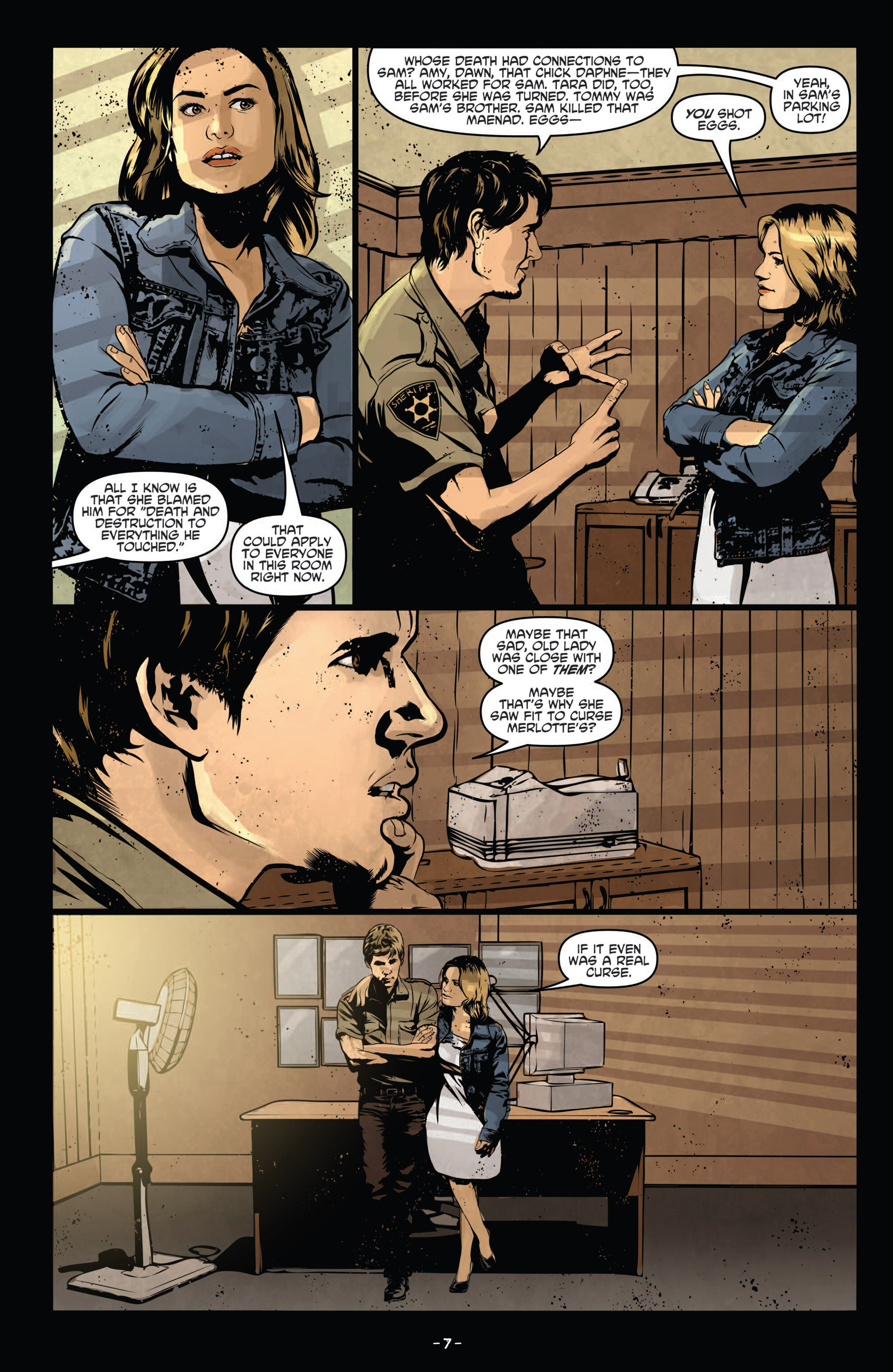 Read online True Blood (2012) comic -  Issue #12 - 9