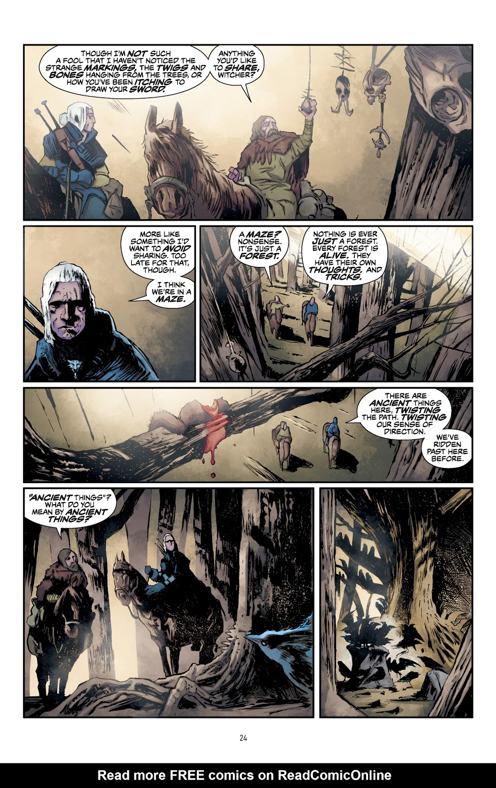 Read online The Witcher Omnibus comic -  Issue # TPB (Part 1) - 25