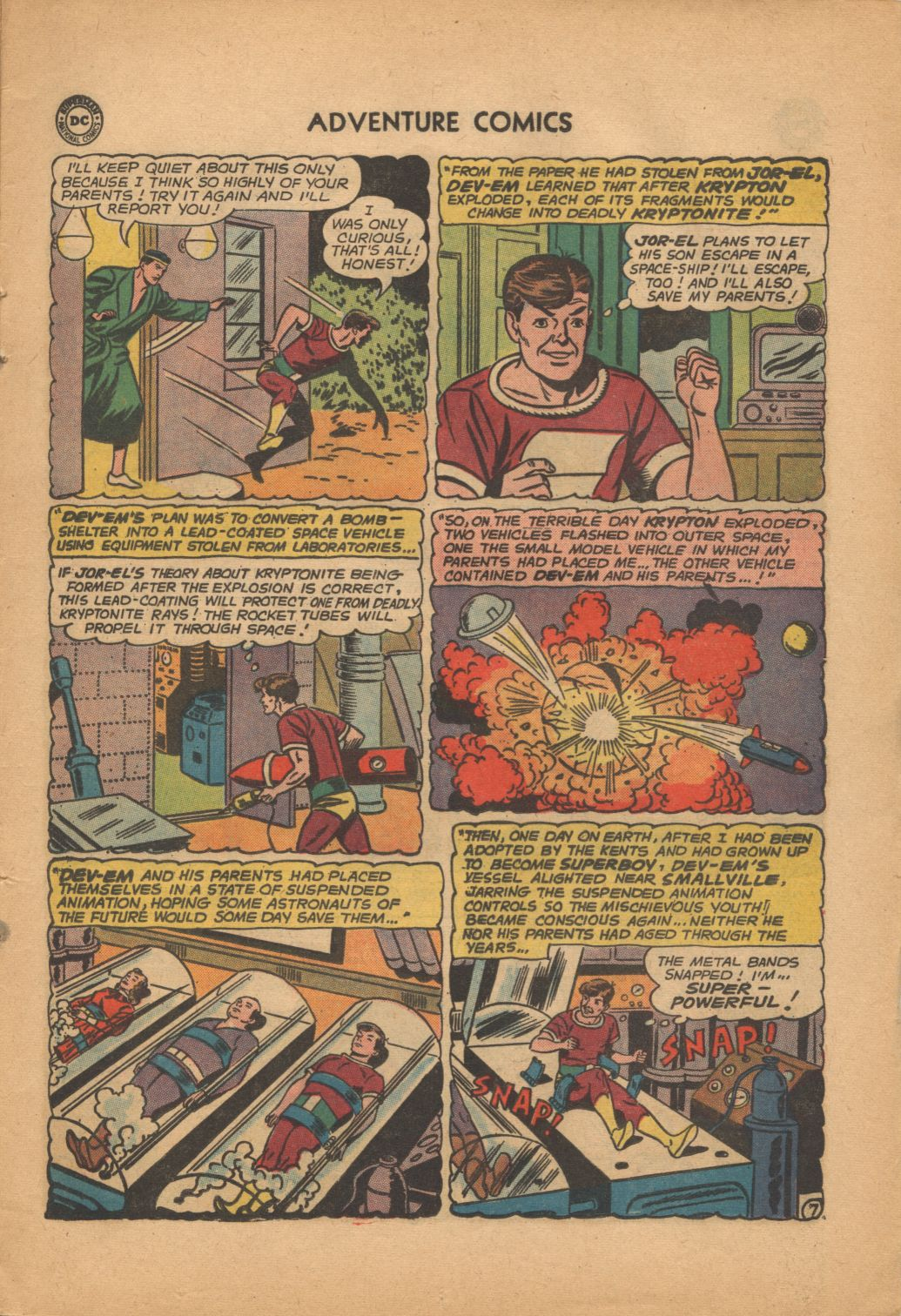 Read online Adventure Comics (1938) comic -  Issue #320 - 9
