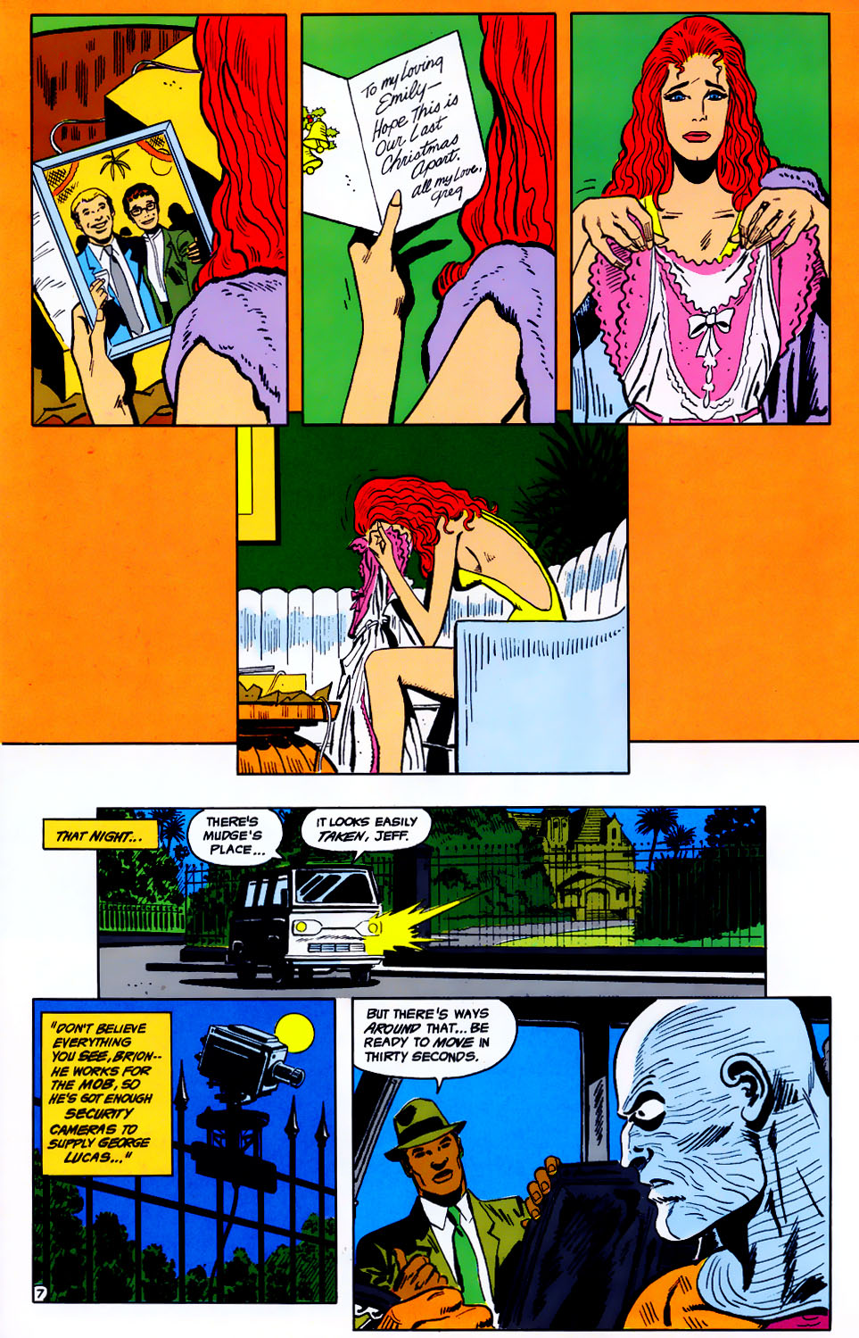 Read online Adventures of the Outsiders comic -  Issue #43 - 8
