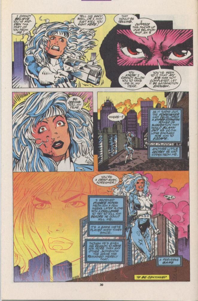 Read online Silver Sable and the Wild Pack comic -  Issue #16 - 23