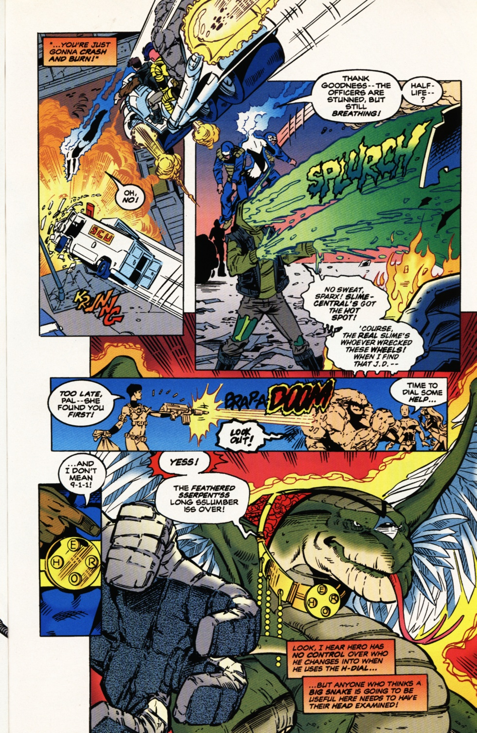 Read online Superboy & The Ravers comic -  Issue #9 - 13