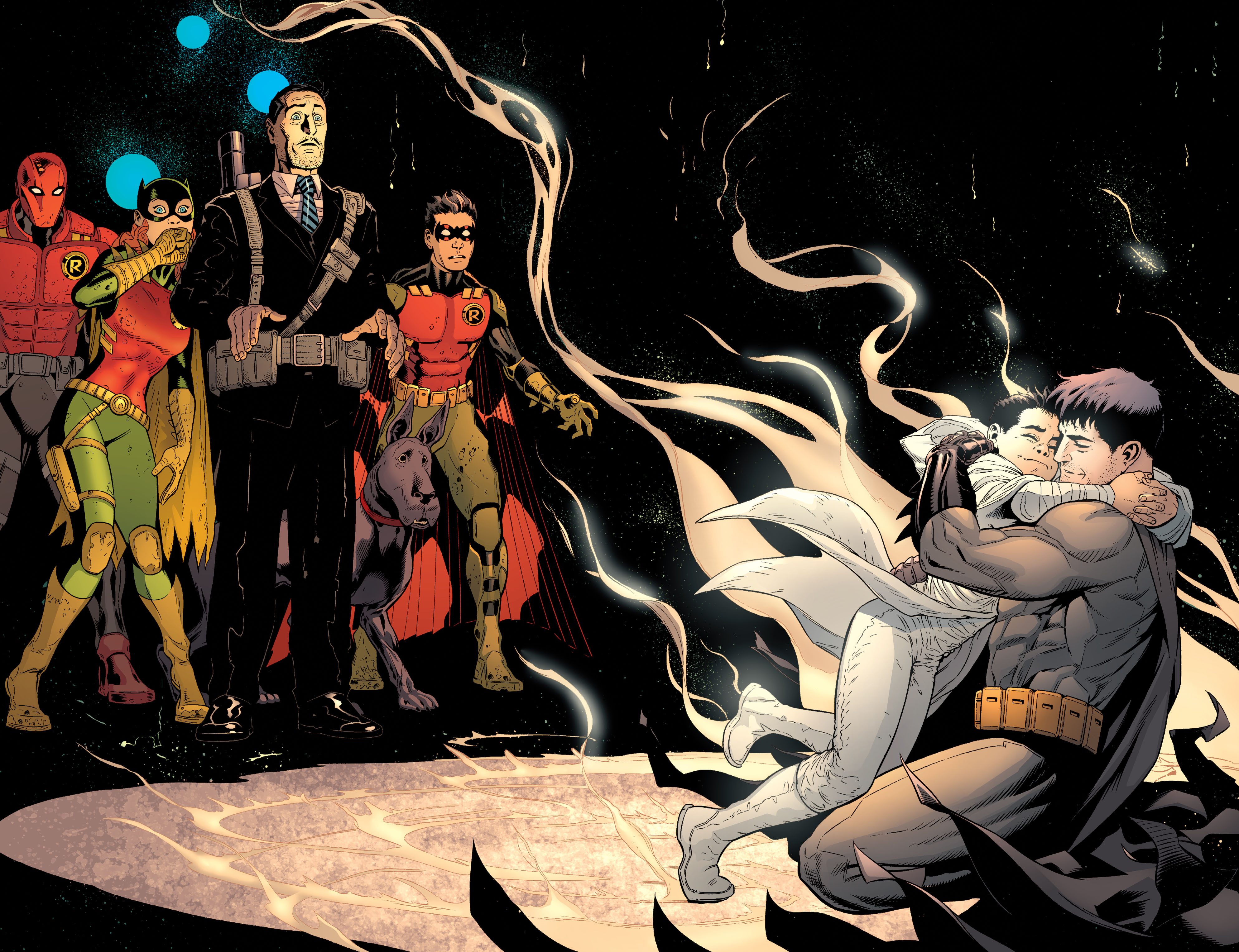 Read online Batman and Robin (2011) comic -  Issue #37 - 20