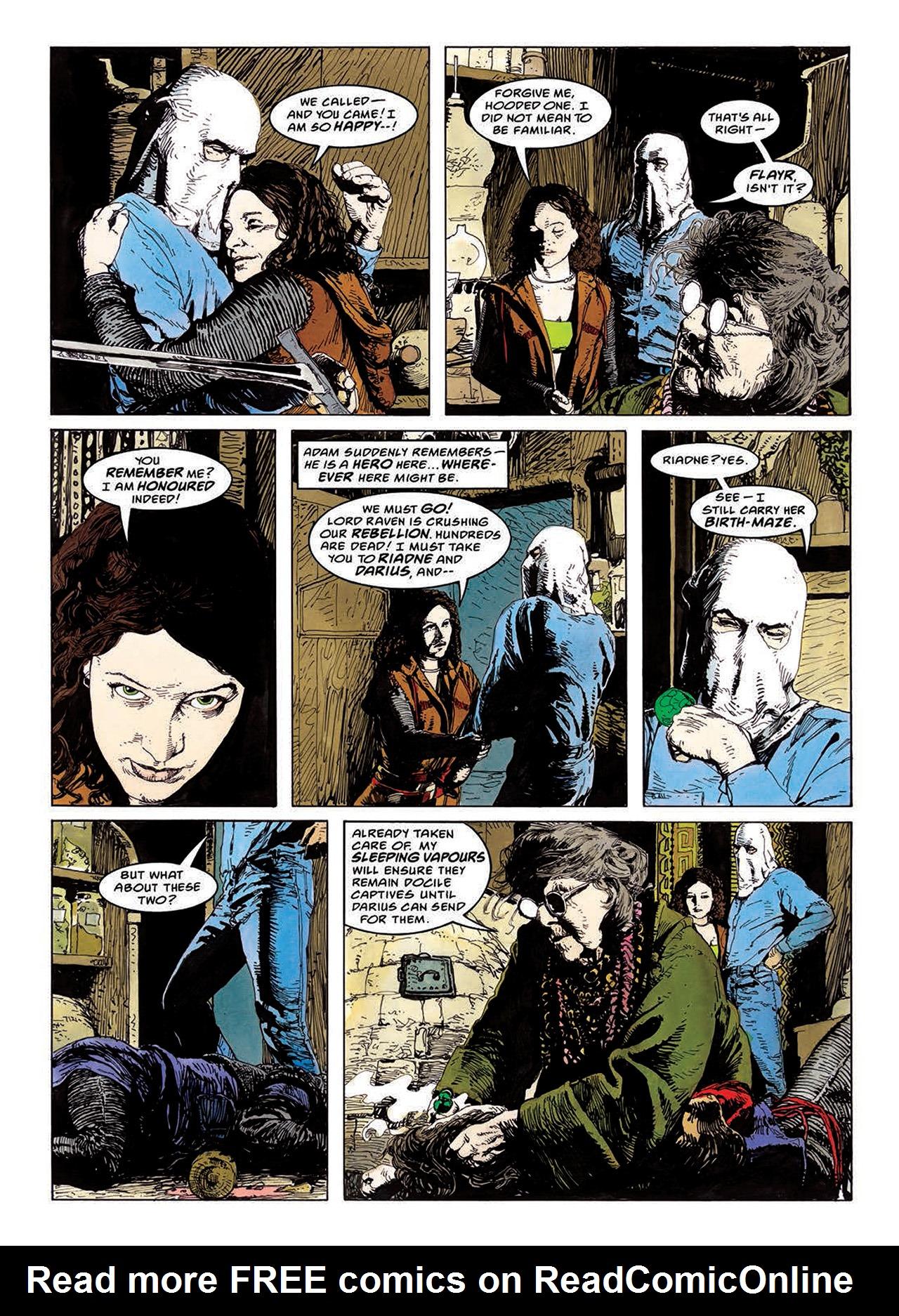 Read online Mazeworld comic -  Issue # TPB - 75