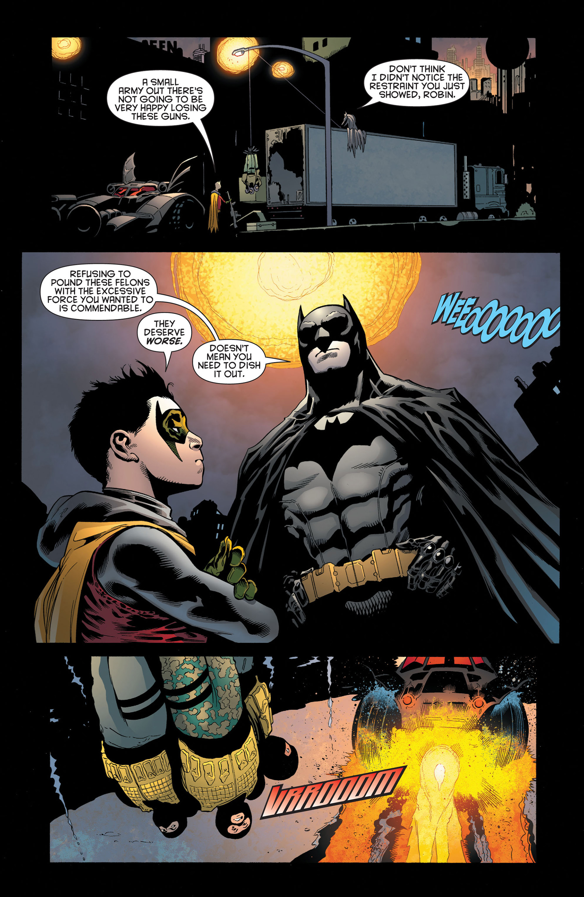 Read online Batman and Robin (2011) comic -  Issue #2 - 9