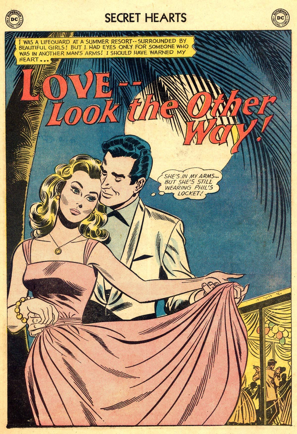 Read online Secret Hearts comic -  Issue #93 - 27
